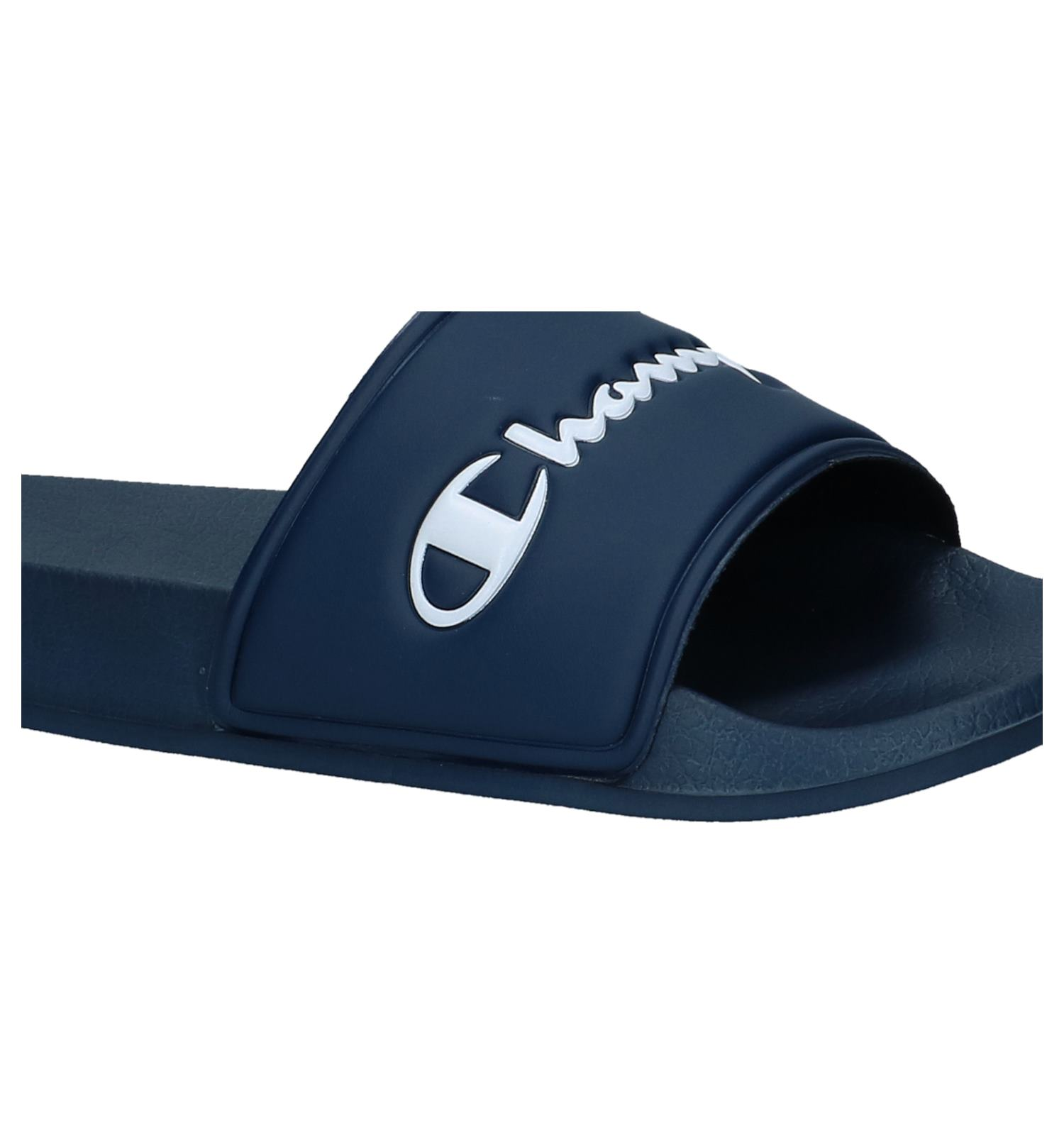 dd26be2861421 Donker Blauwe Slippers Champion Florida