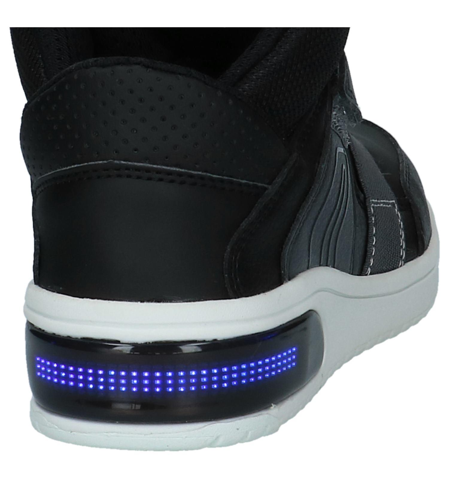 26f55cbb20c Geox Zwarte Sneakers met Lichtjes   TORFS.BE   Gratis verzend en retour