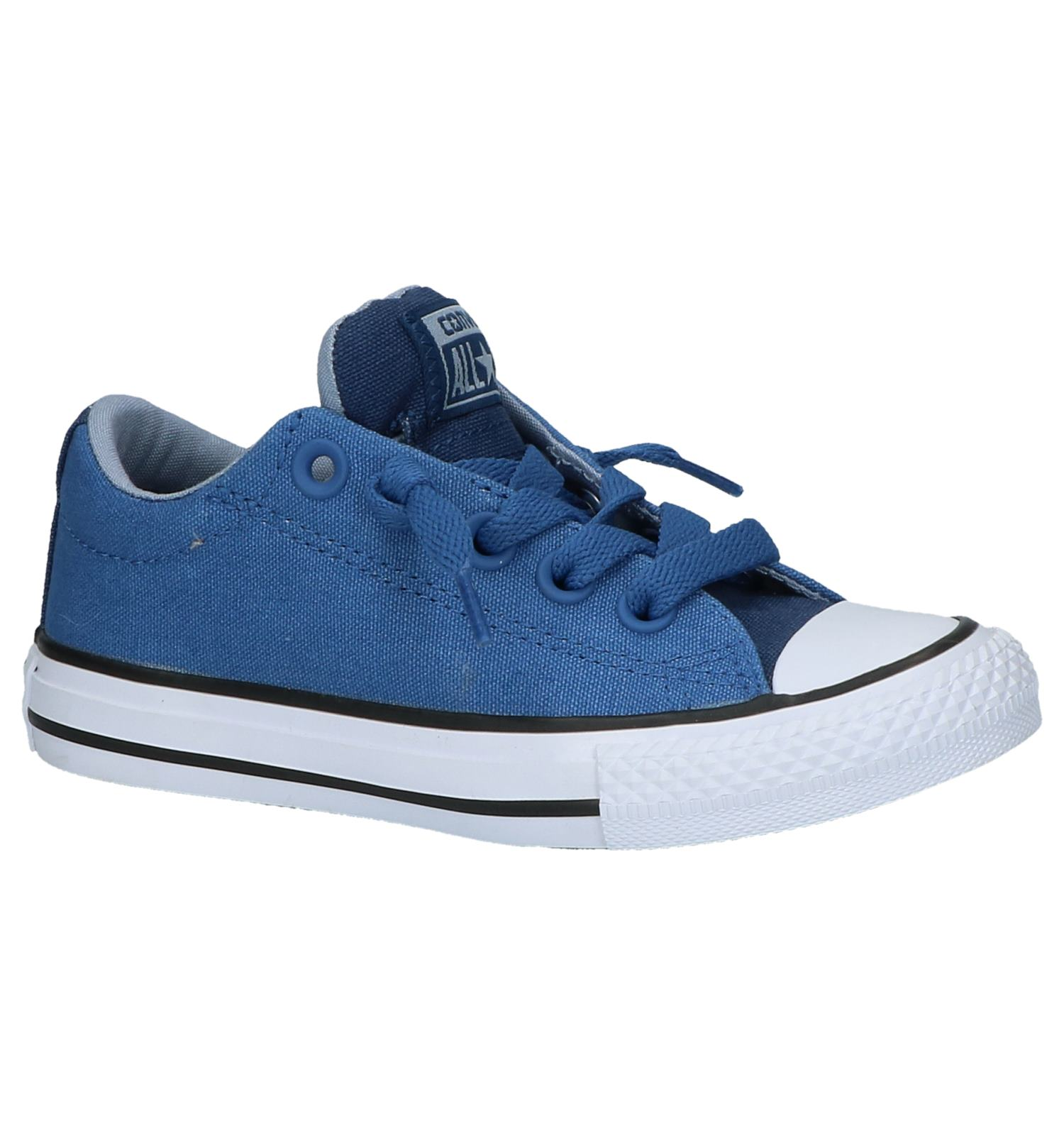cc2646ec1ab Blauwe Lage Sportieve Sneakers Converse Chuck Taylor All Star Street |  TORFS.BE | Gratis verzend en retour