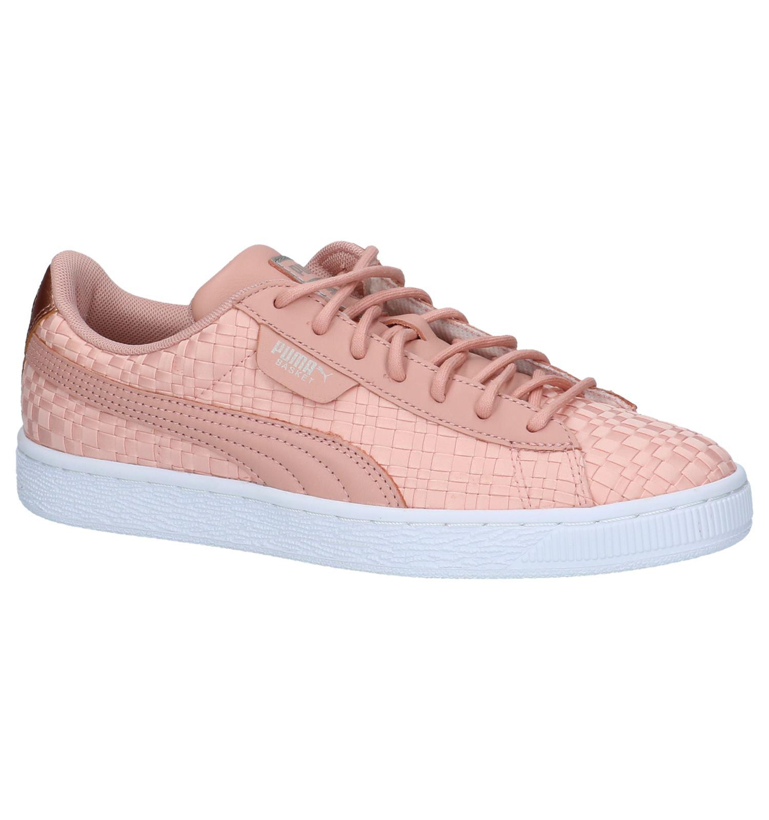 391b1cfaa37 Roze Gevlochten Sneakers Puma   TORFS.BE   Gratis verzend en retour