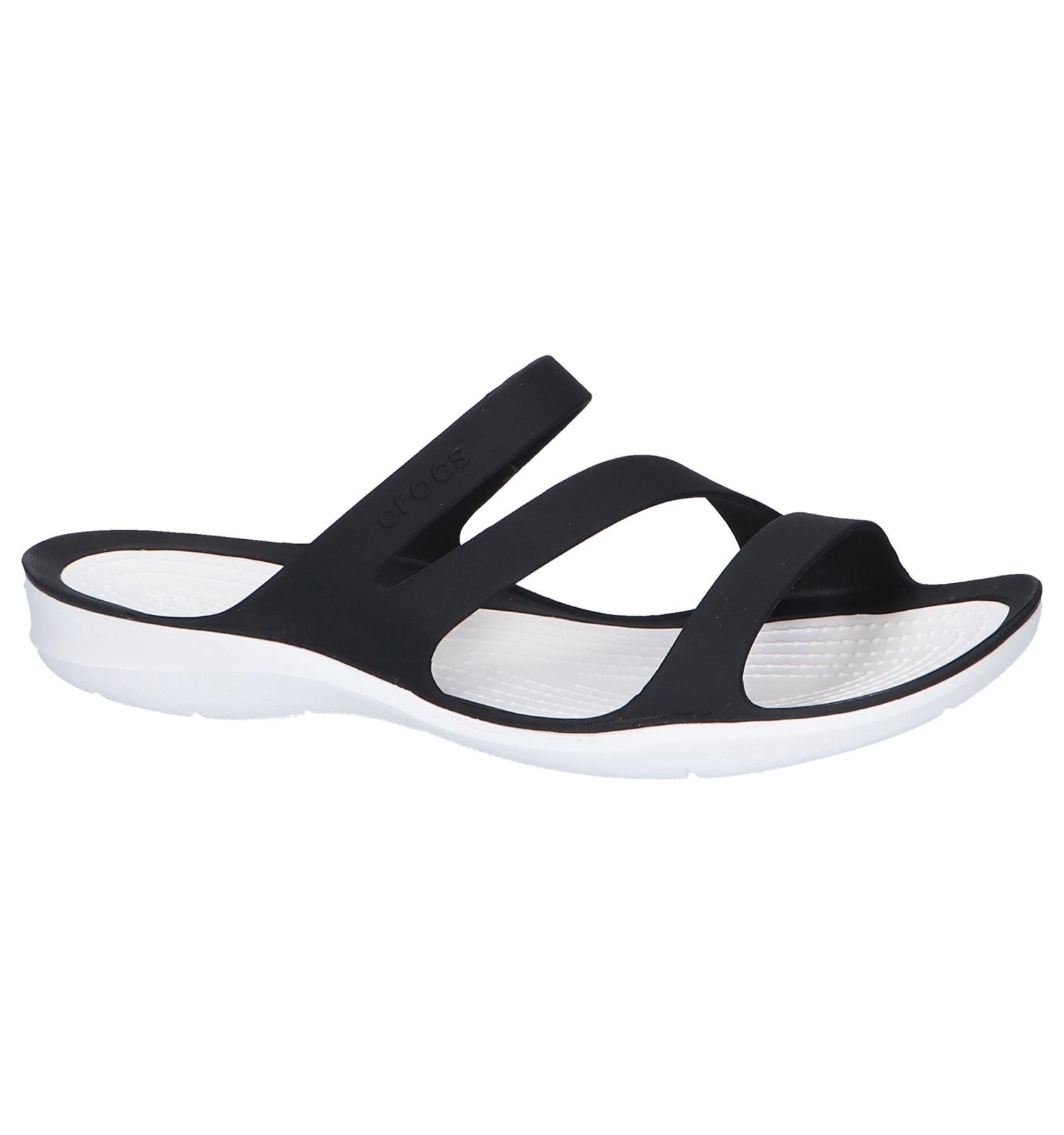 Swiftwater Sandal slippers dames teal light | Crocs