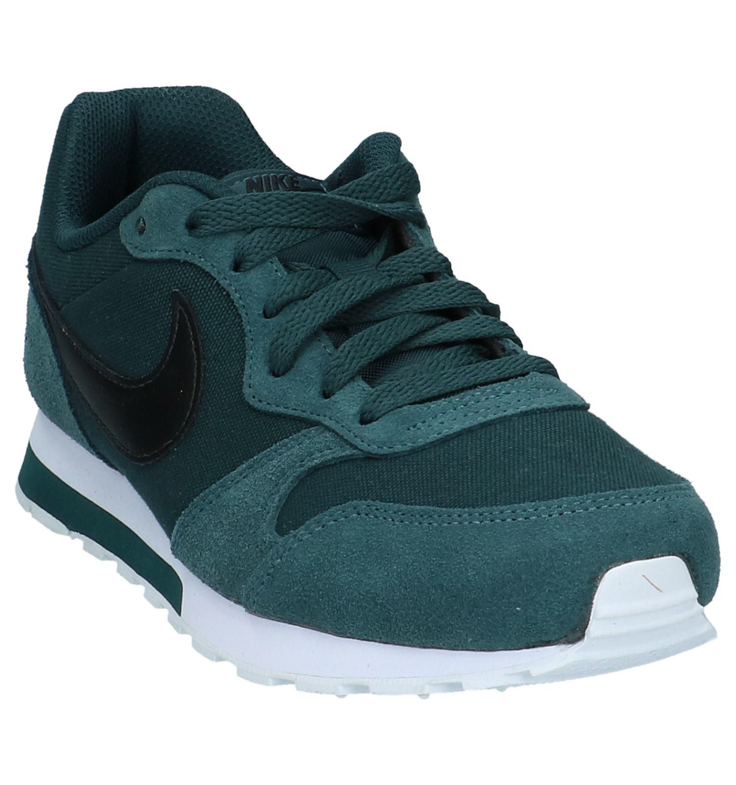 new concept e2816 dad7e Nike MD Runner Donker Groene Sneakers  TORFS.BE  Gratis verzend en retour