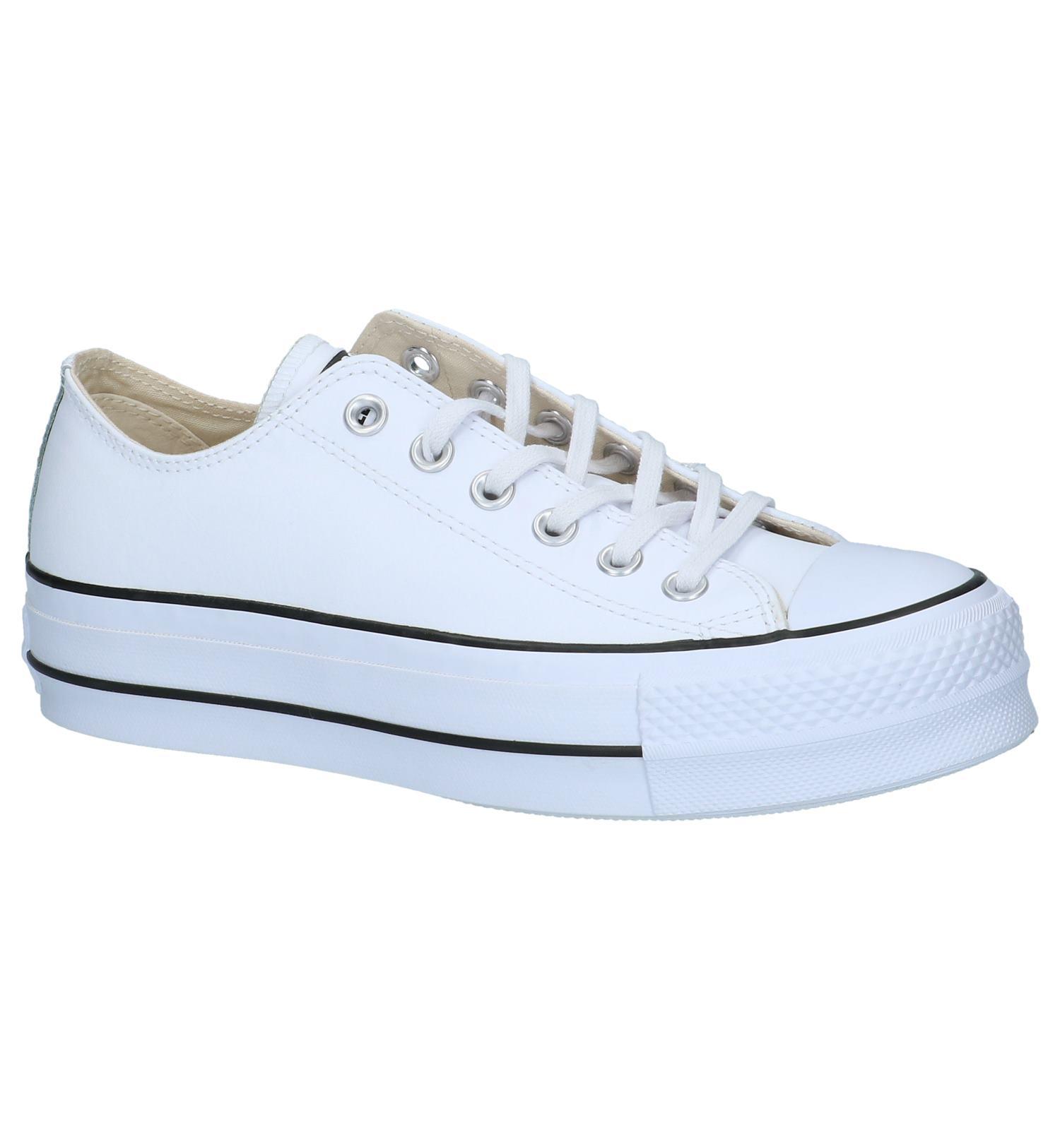 5c0ebb0adc9 Witte Lage Geklede Sneakers Converse Chuck Taylor All Stars | TORFS.BE |  Gratis verzend en retour