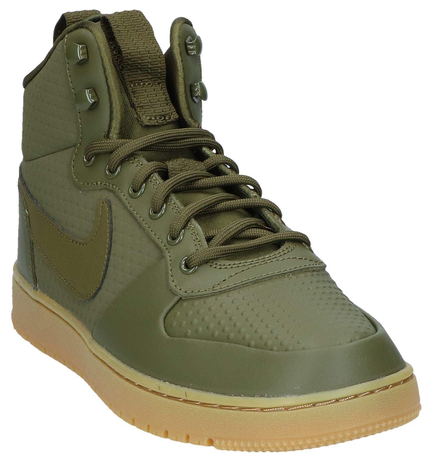 8ccae42b2ec Kaki Hoge Sneakers Nike Ebernon   TORFS.BE   Gratis verzend en retour
