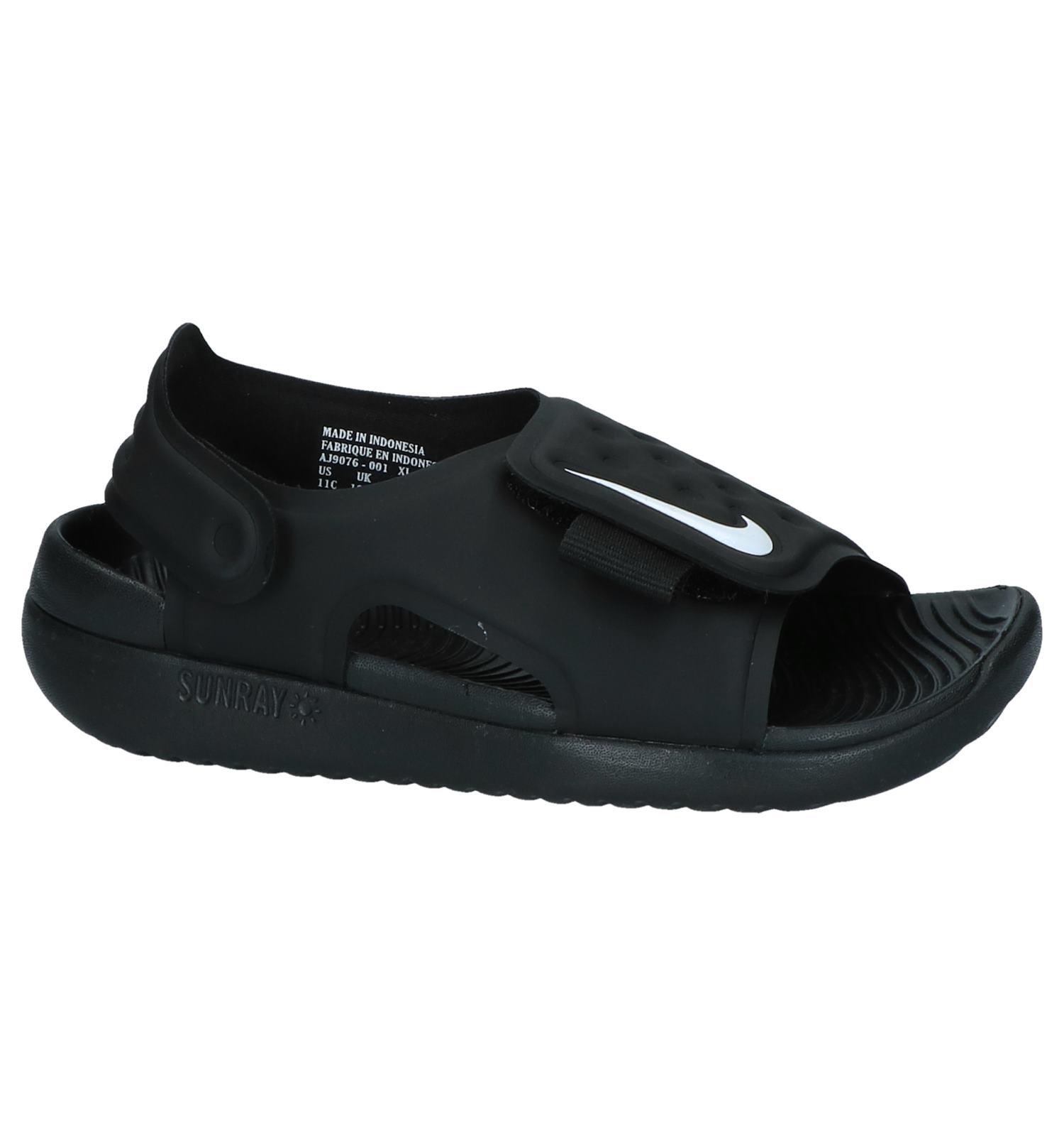 cheap for discount 81da3 764ee Zwarte Watersandalen Nike Sunray Adjust  TORFS.BE  Gratis verzend en  retour