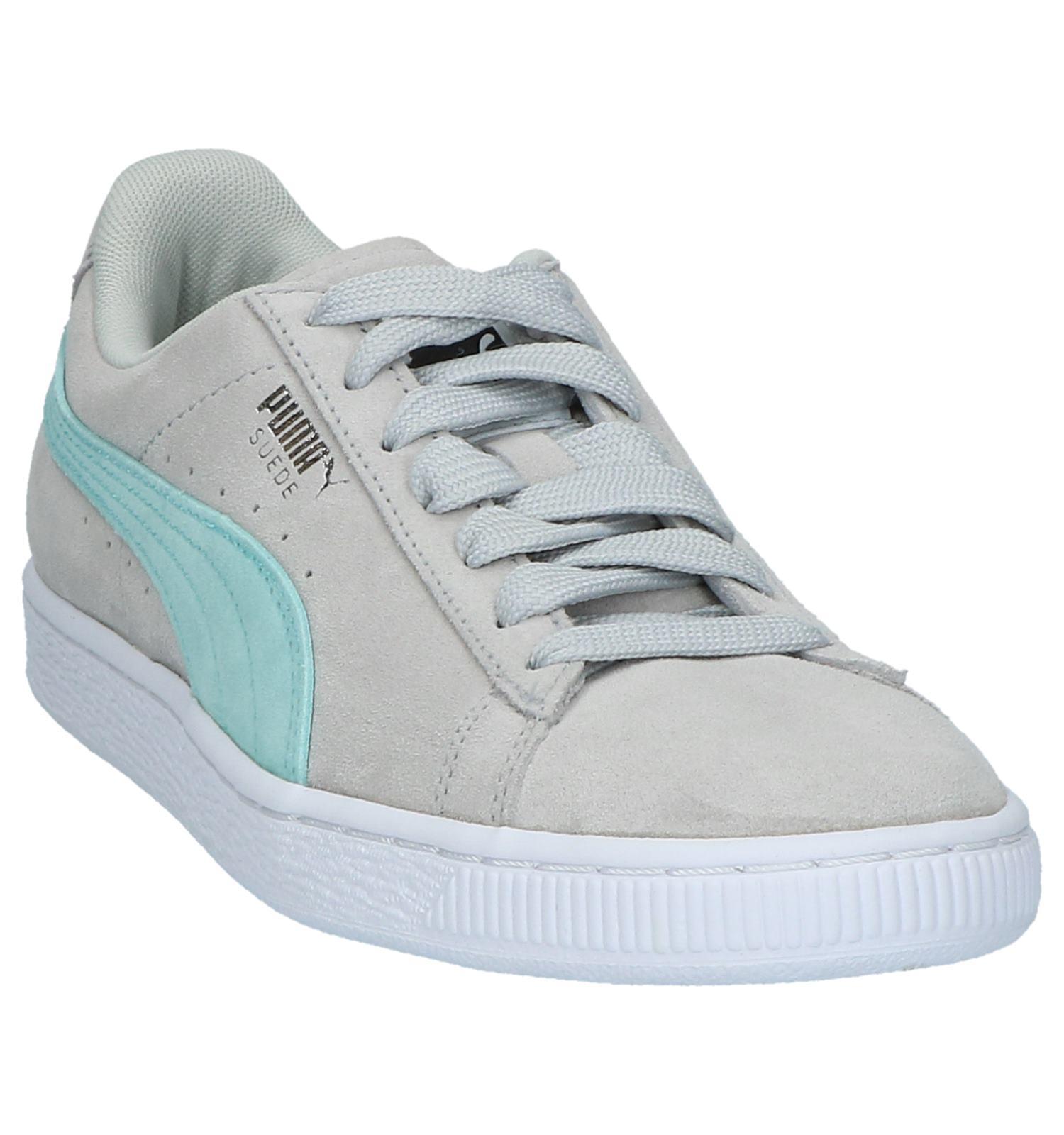 785626a73aa Lichtgrijze Lage Sportieve Sneakers Puma Suede Classic | TORFS.BE | Gratis  verzend en retour