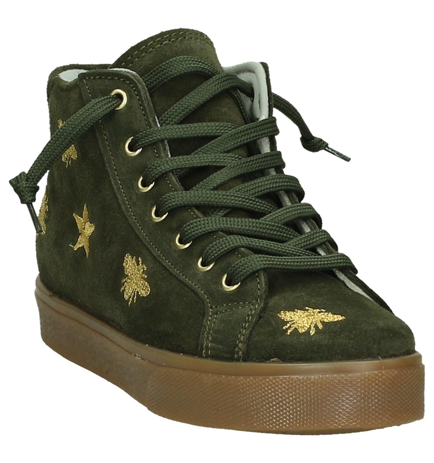 092bece79c0 Hoge Kaki Sneakers Dazzle   TORFS.BE   Gratis verzend en retour