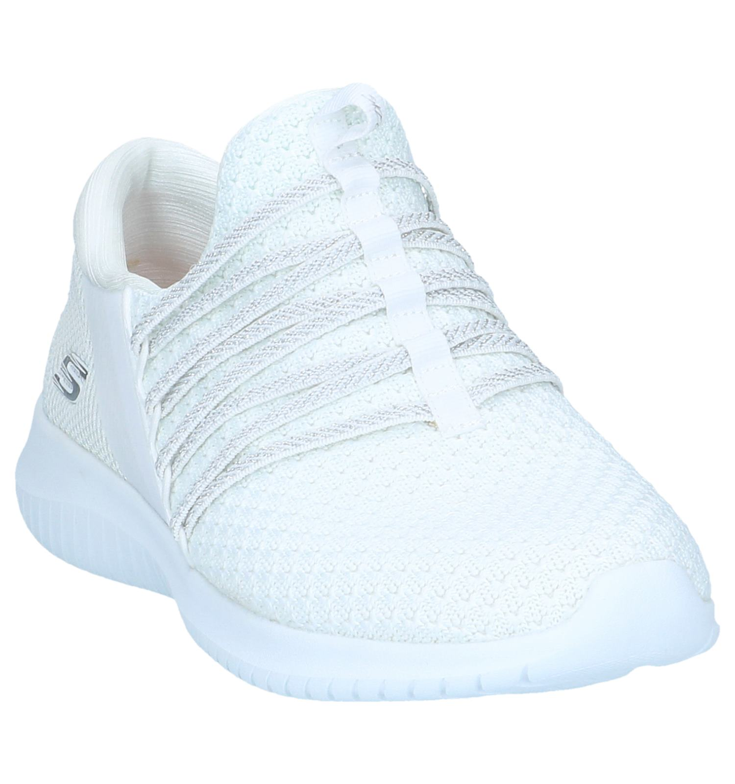 Witte Sneakers Skechers Ultra Flex Bright | TORFS.BE