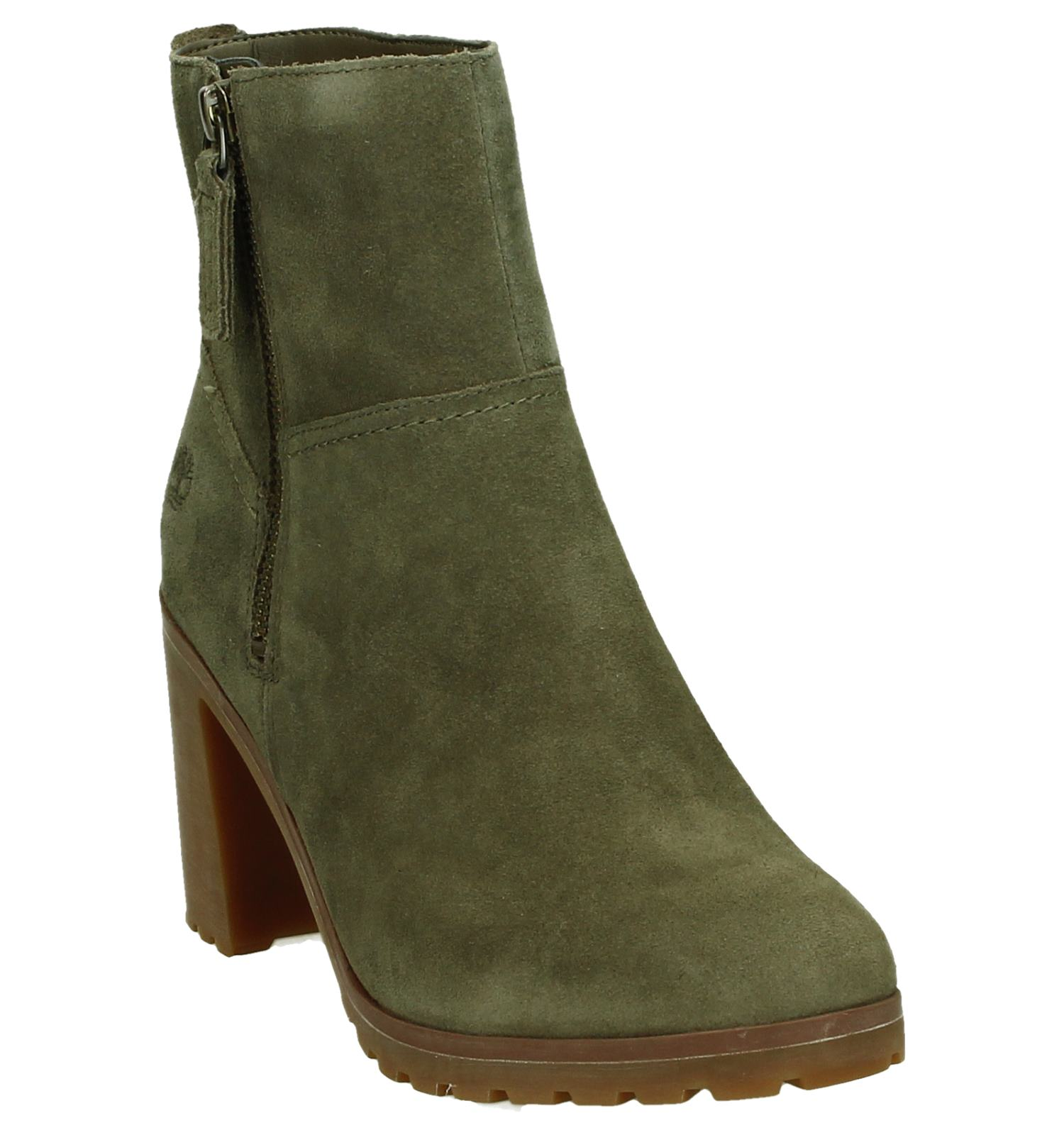 Timberland Allington dames veterboots groen