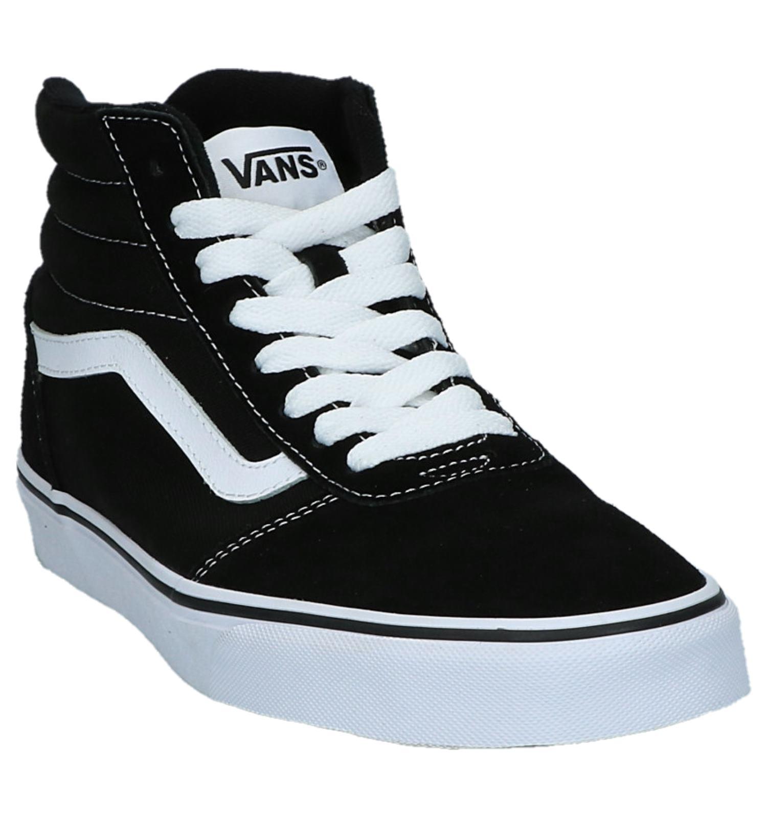 d7997abc352 Hoge Sportieve Sneakers Vans Ward Hi Zwart | TORFS.BE | Gratis verzend en  retour