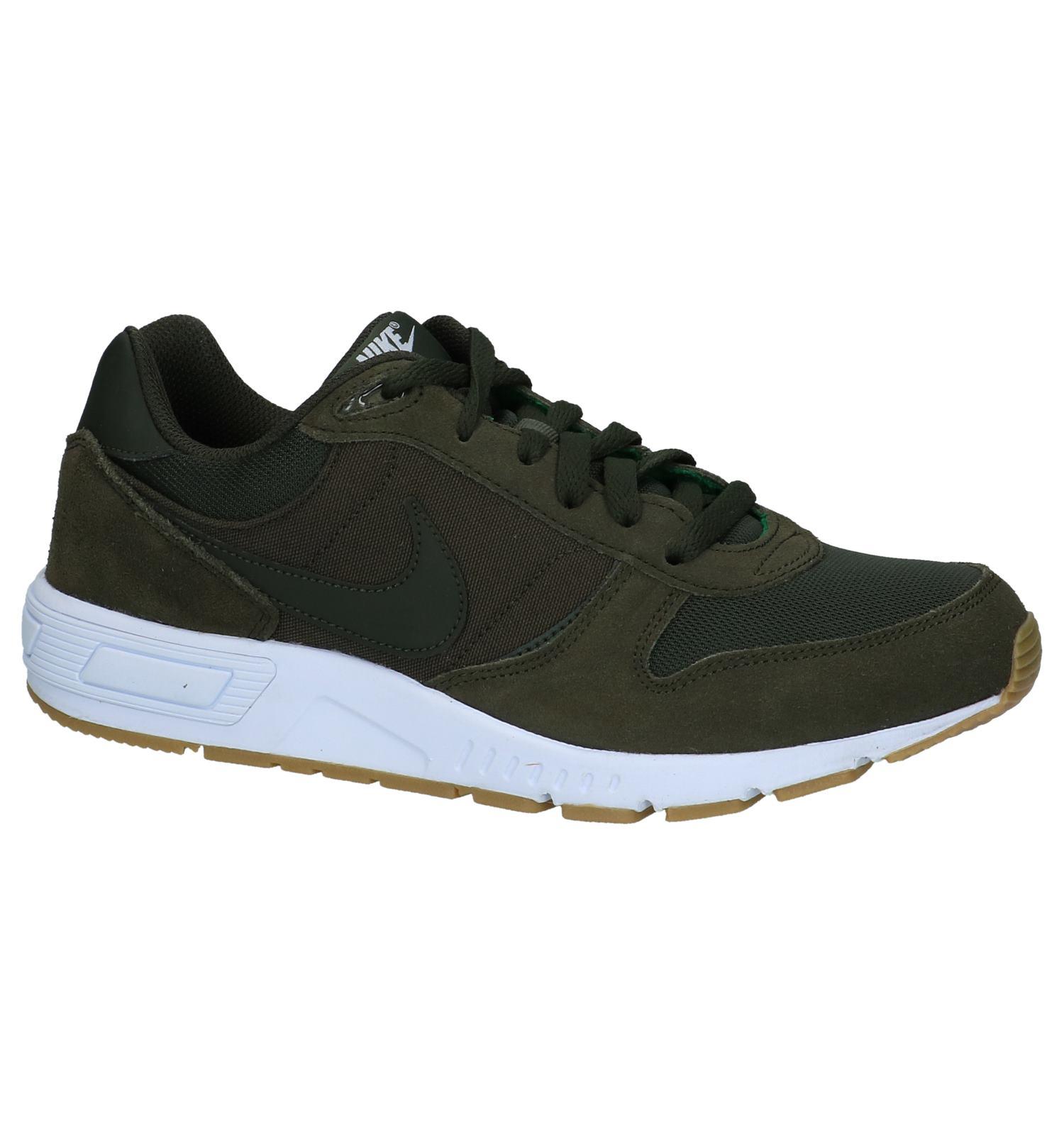 Verzend En Sneakers Kaki Retour Torfs Lage be Nike Gratis Nightgazer 00qn58