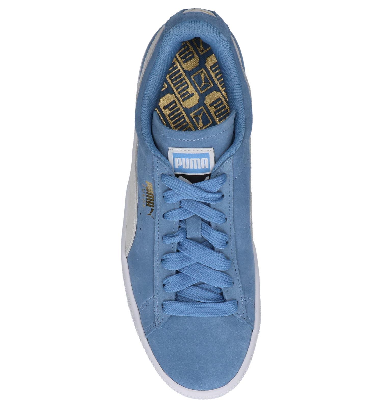e394d4748a6 Lage Sneakers Licht Blauw Puma Suede Classic | TORFS.BE | Gratis verzend en  retour