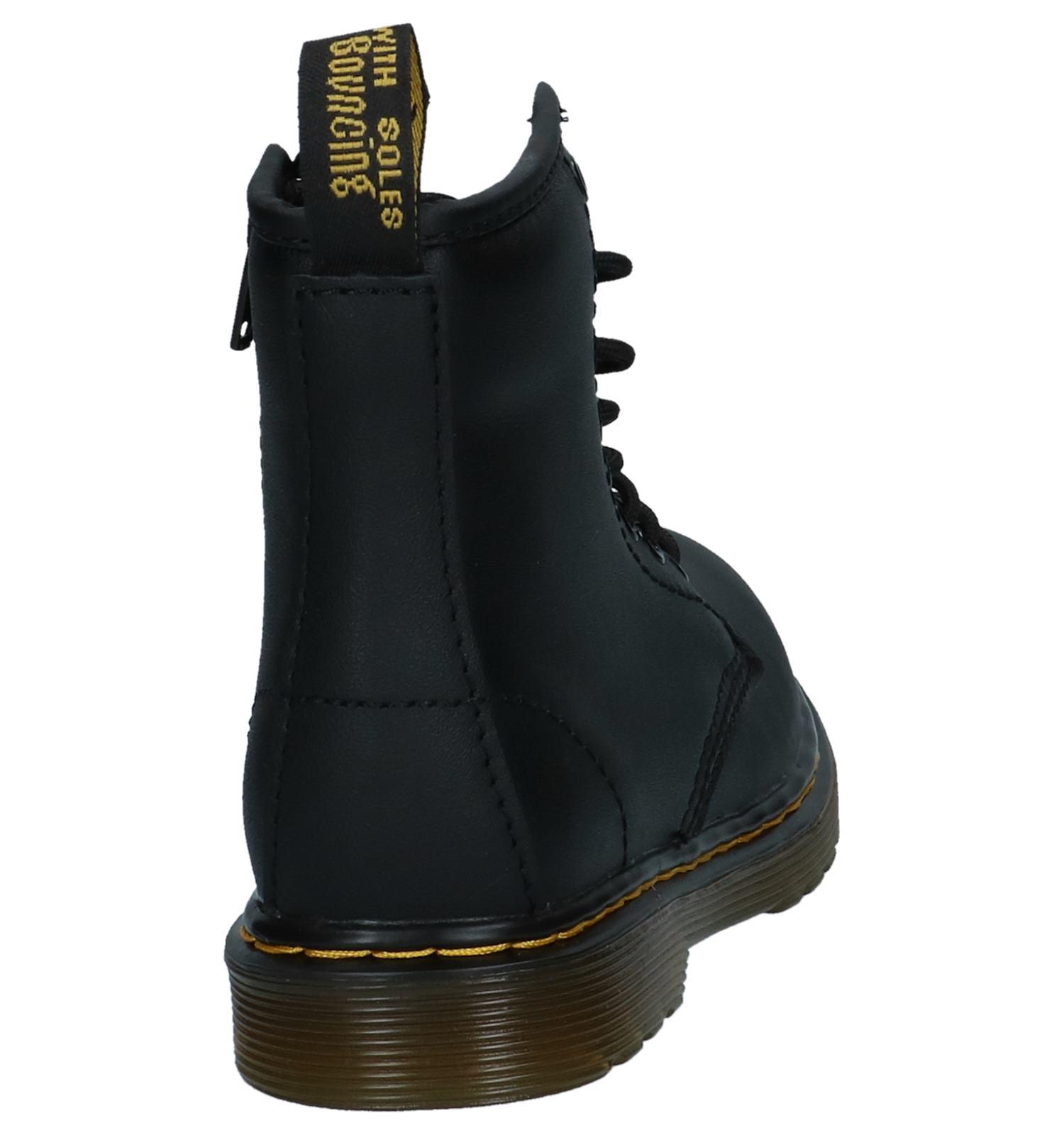 20df92005d6 Dr. Martens Delaney Zwarte Boots met Rits/Veter | TORFS.BE | Gratis verzend  en retour