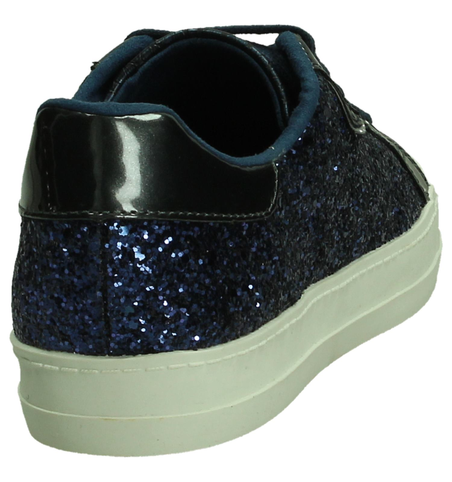 Verzend Blauwe En Tamaris Gratis be Torfs Glitter Sneaker Met Retour 0CW1n06q