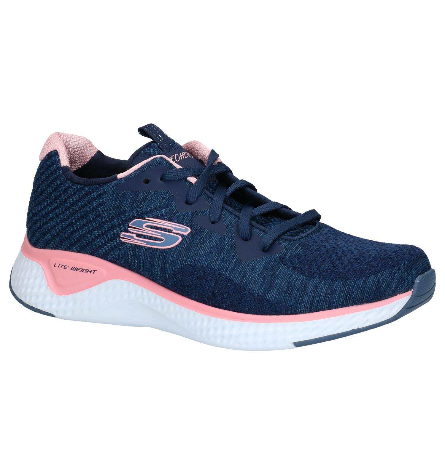 Skechers Solar Fuse Blauwe Sneakers   TORFS.BE   Gratis verzend en retour