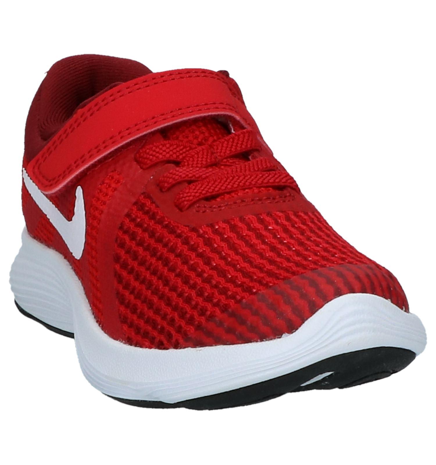 87e25f88586 Rode Sneakers Nike Revolution 4 | TORFS.BE | Gratis verzend en retour
