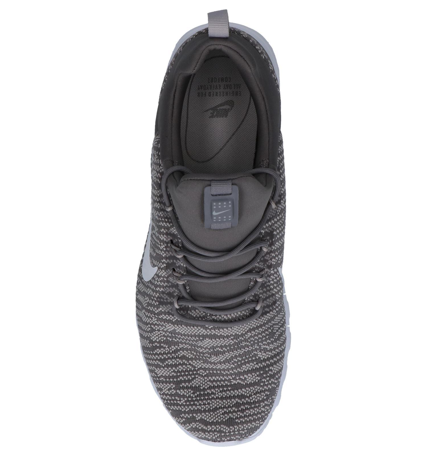 nike air max motion racer sneakers grijs heren