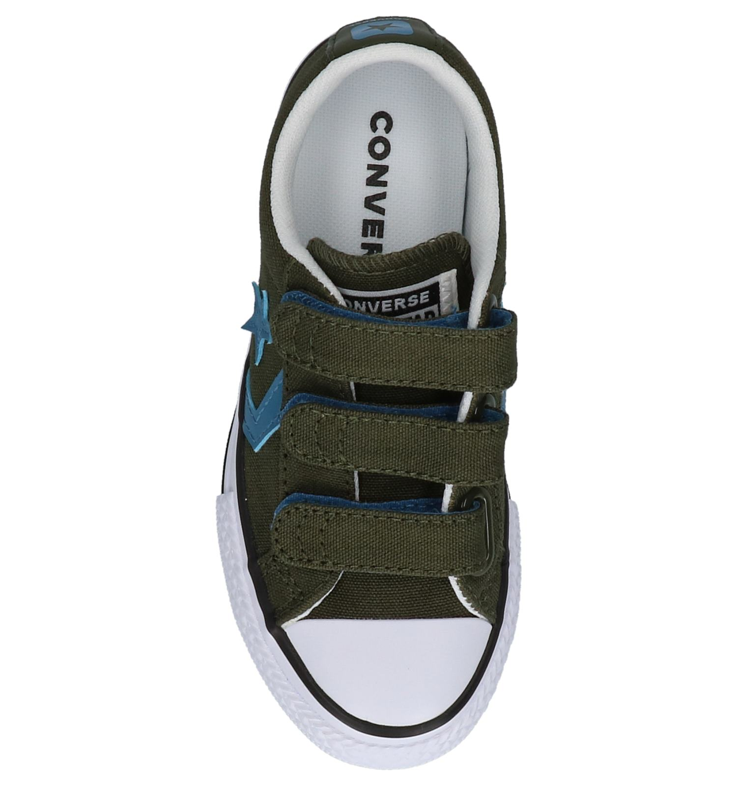 31b5f077ba0 Converse Star Player Kaki Sneakers met Velcro | TORFS.BE | Gratis verzend  en retour