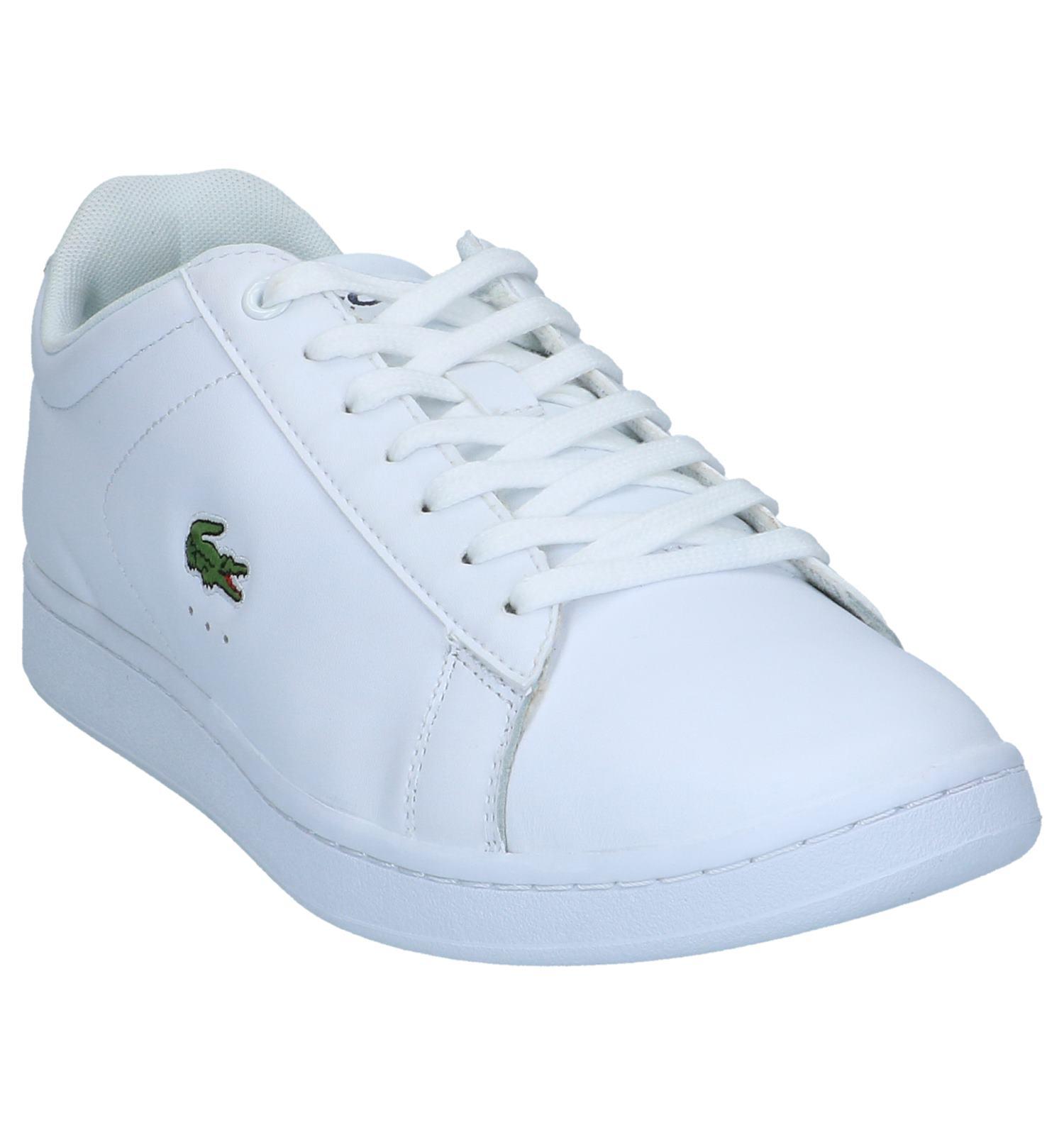 5b440951dae581 Witte Lage Sneakers Lacoste Carnaby Evo | TORFS.BE | Gratis verzend en  retour