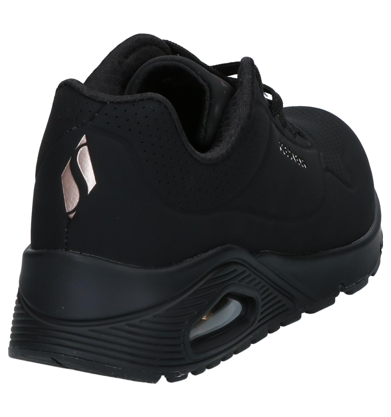 Skechers Uno Stand on Air Baskets en Noir | TORFS.BE | Livraison et retour gratuits