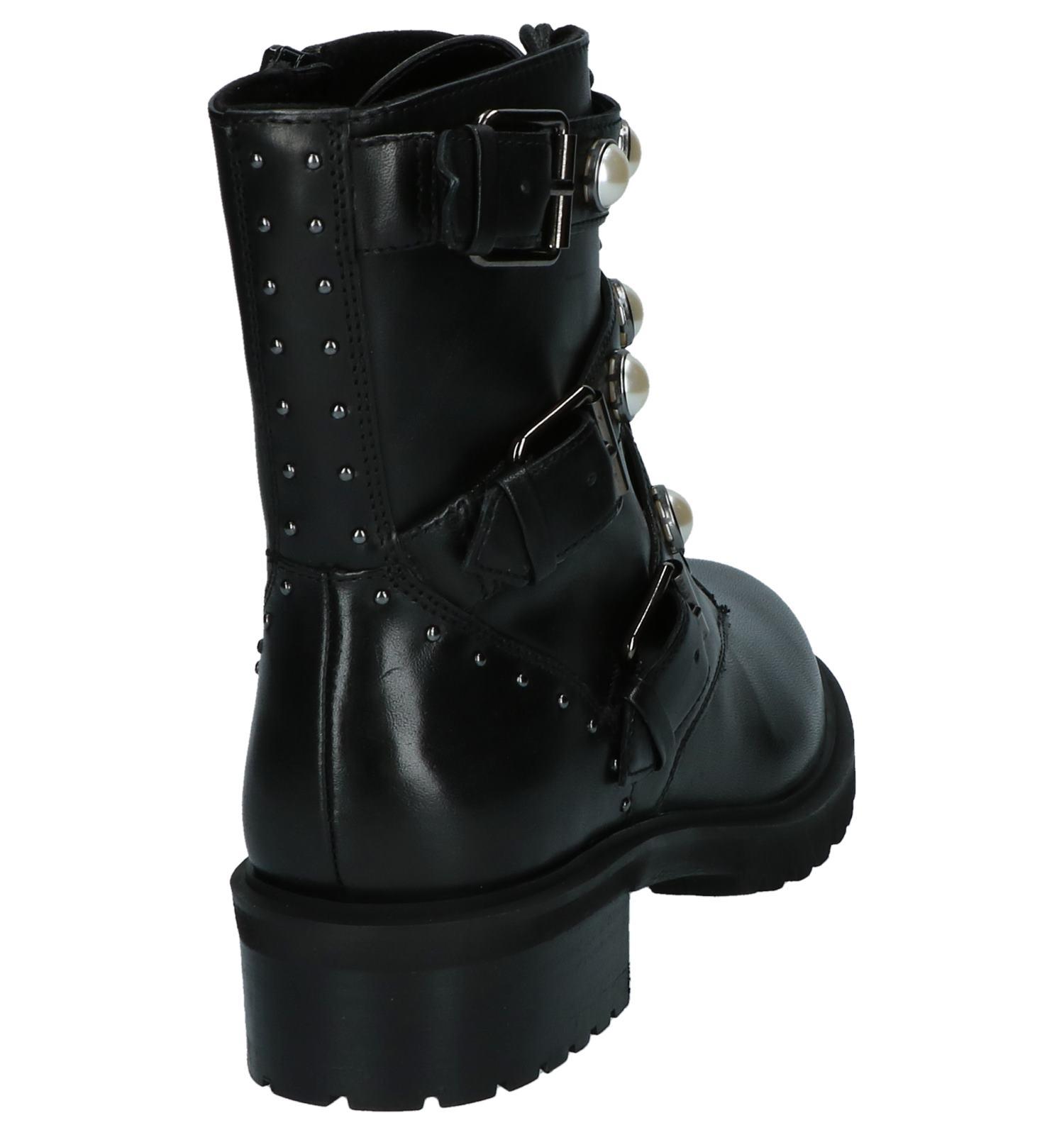Wonderbaarlijk Zwarte Stoere Boots met Parels SPM | TORFS.BE | Gratis verzend en YE-73