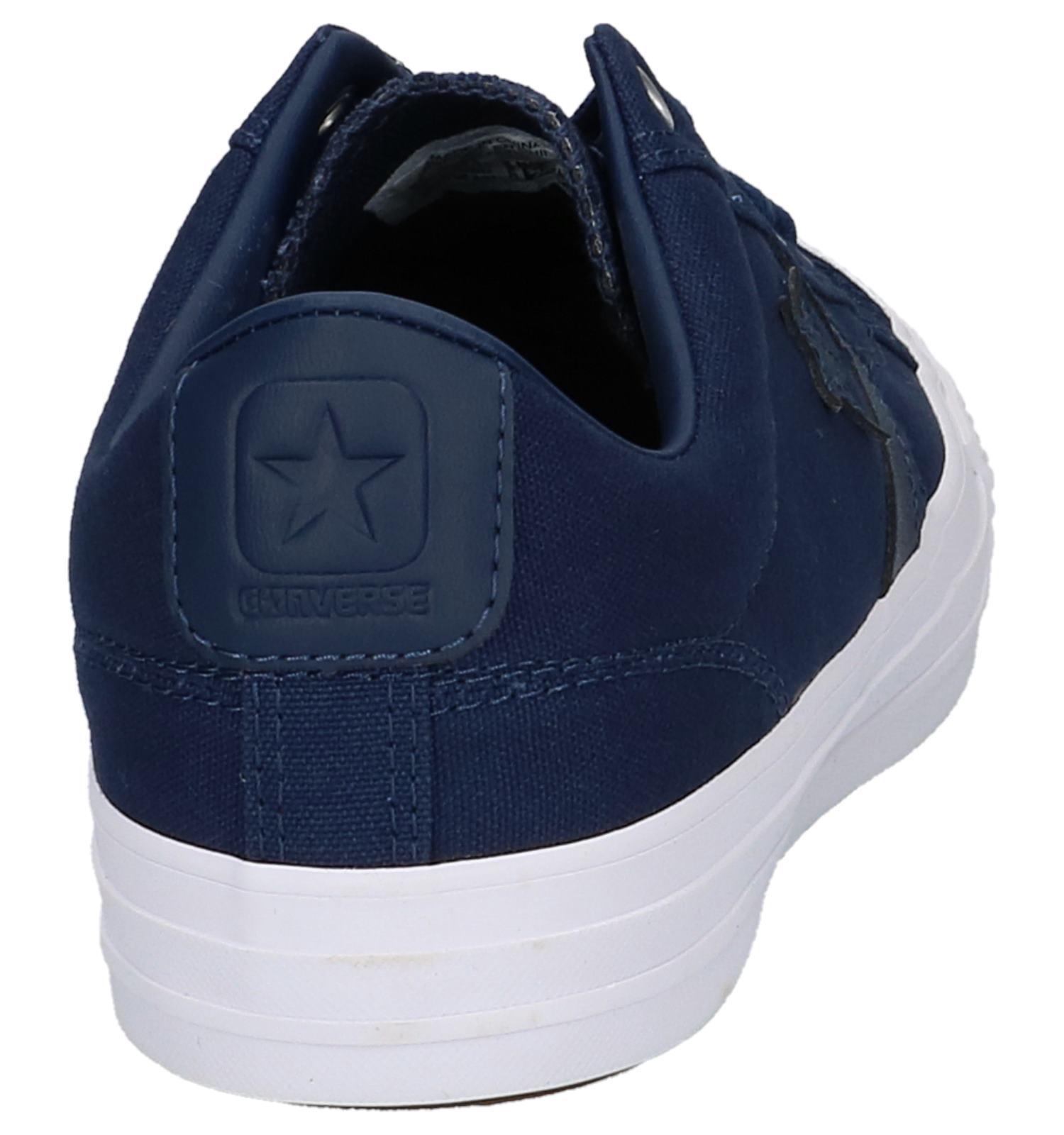 37b9e4c99e8 Donkerblauwe Lage Sportieve Sneakers Converse Star Player Ox | TORFS.BE |  Gratis verzend en retour