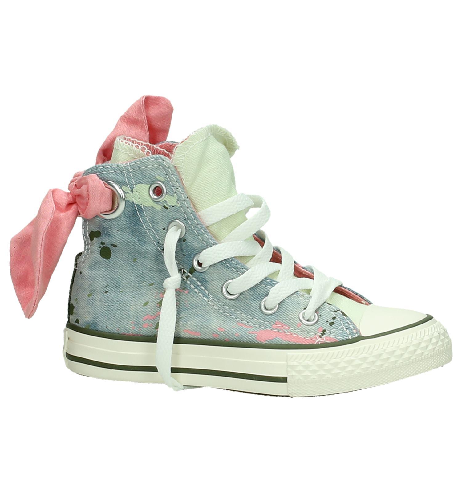 6dab70b54ed Converse Chuck Taylor AS Bow Back Hi Blauwe Sneakers | TORFS.BE | Gratis  verzend en retour