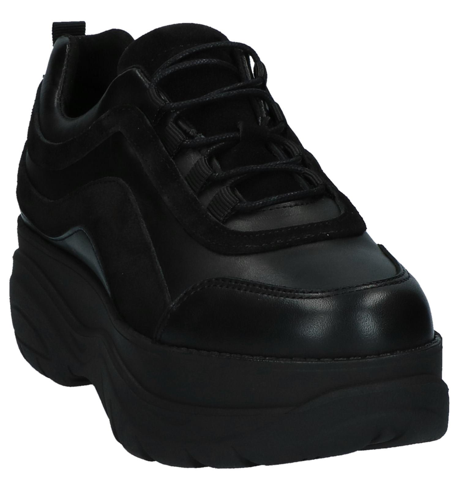 Verzend Bullboxer En be Gratis Sneakers Torfs Plateau Zwarte Met 1wftq0w