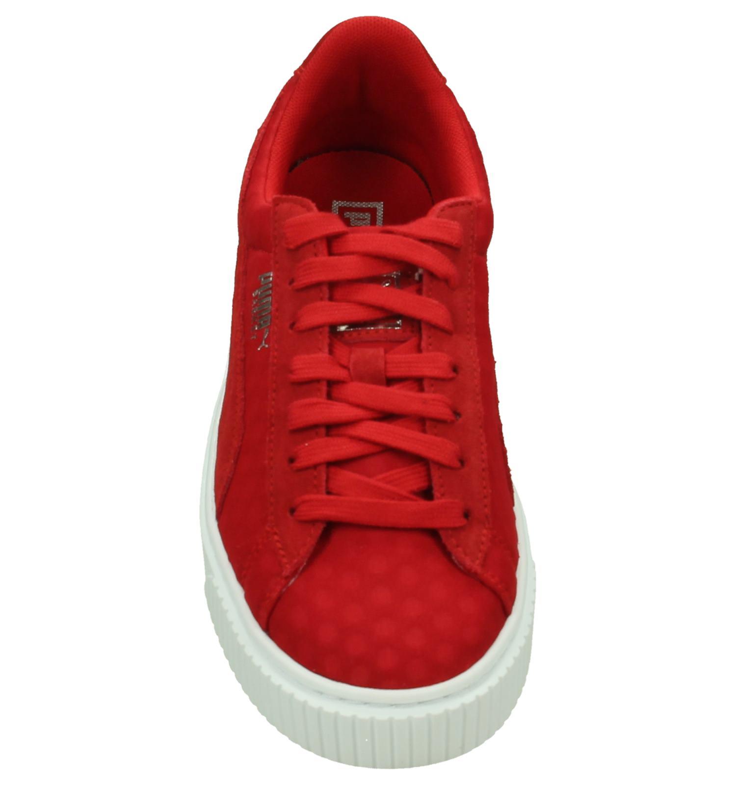 Gratis En Platform Verzend Puma Basket SneakersTorfs be Rode Retour UzpjSLVGqM