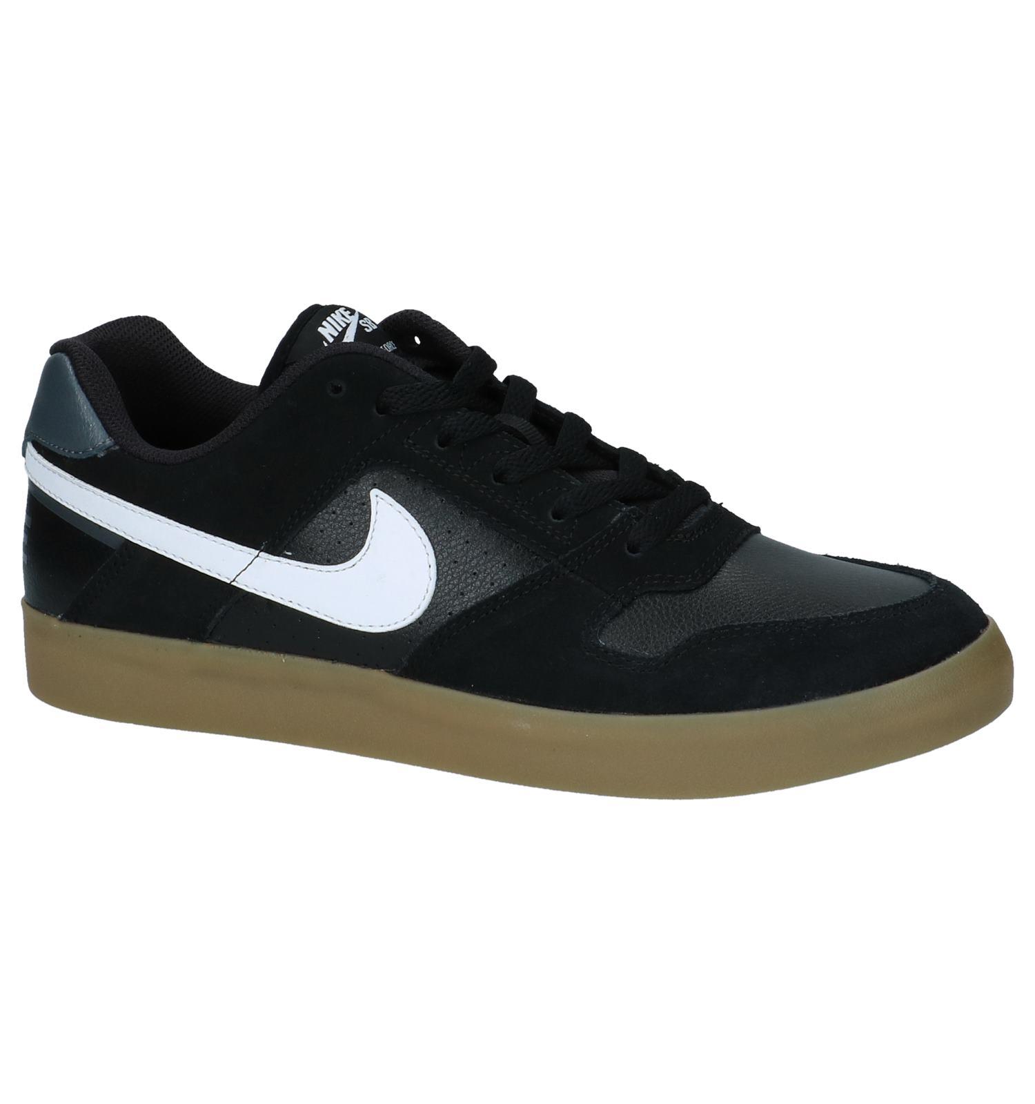 cheaper 3fa61 8d653 Zwarte Skateschoenen Nike SB Delta Force Vulc | TORFS.BE | Gratis verzend  en retour