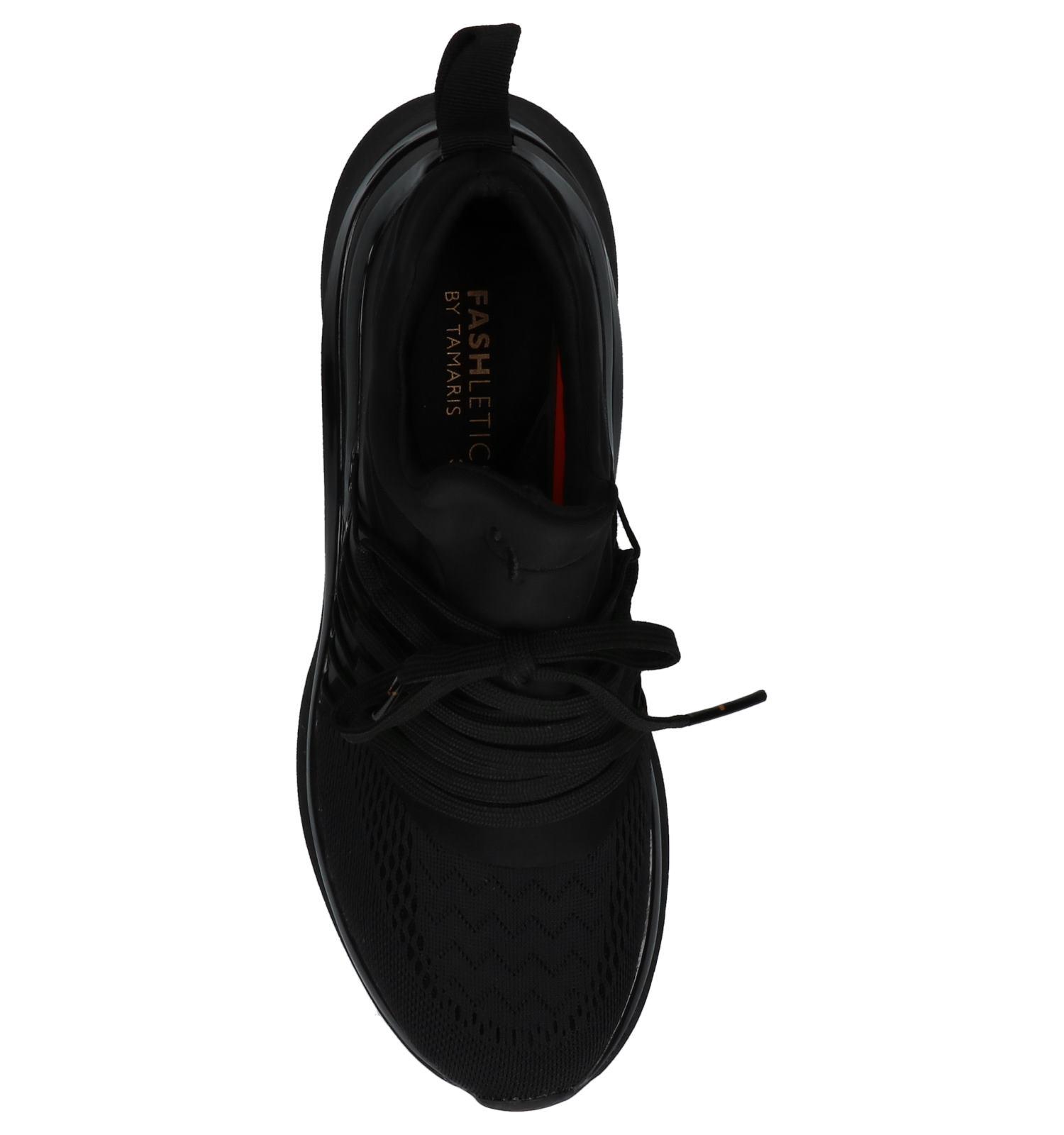 c78a4aa4128 Tamaris Fashletics Zwarte Sneakers | TORFS.BE | Gratis verzend en retour