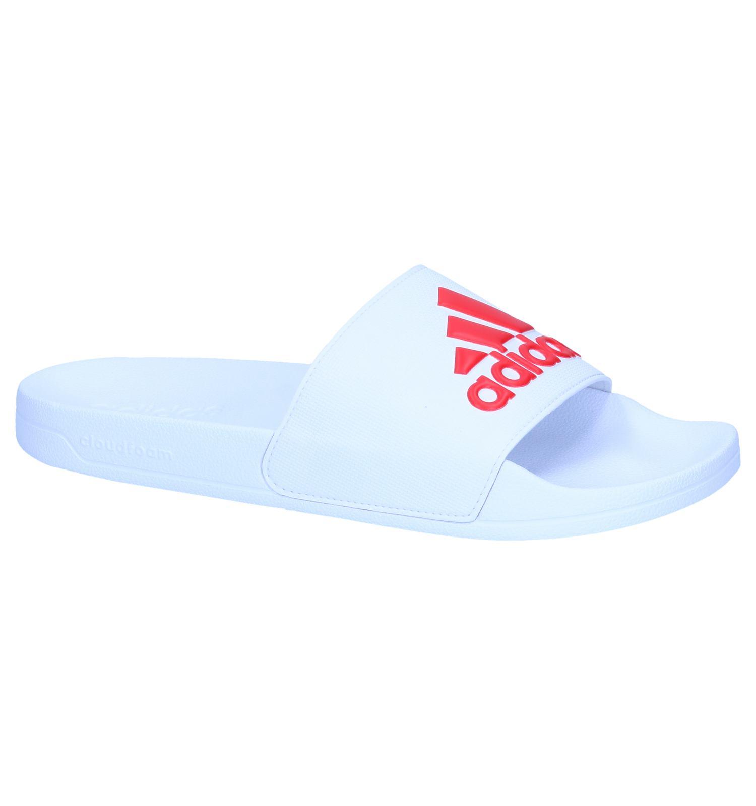first rate 9eb10 5ef17 adidas Sandales de bain (Blanc)  TORFS.BE  Livraison et retour gratuits