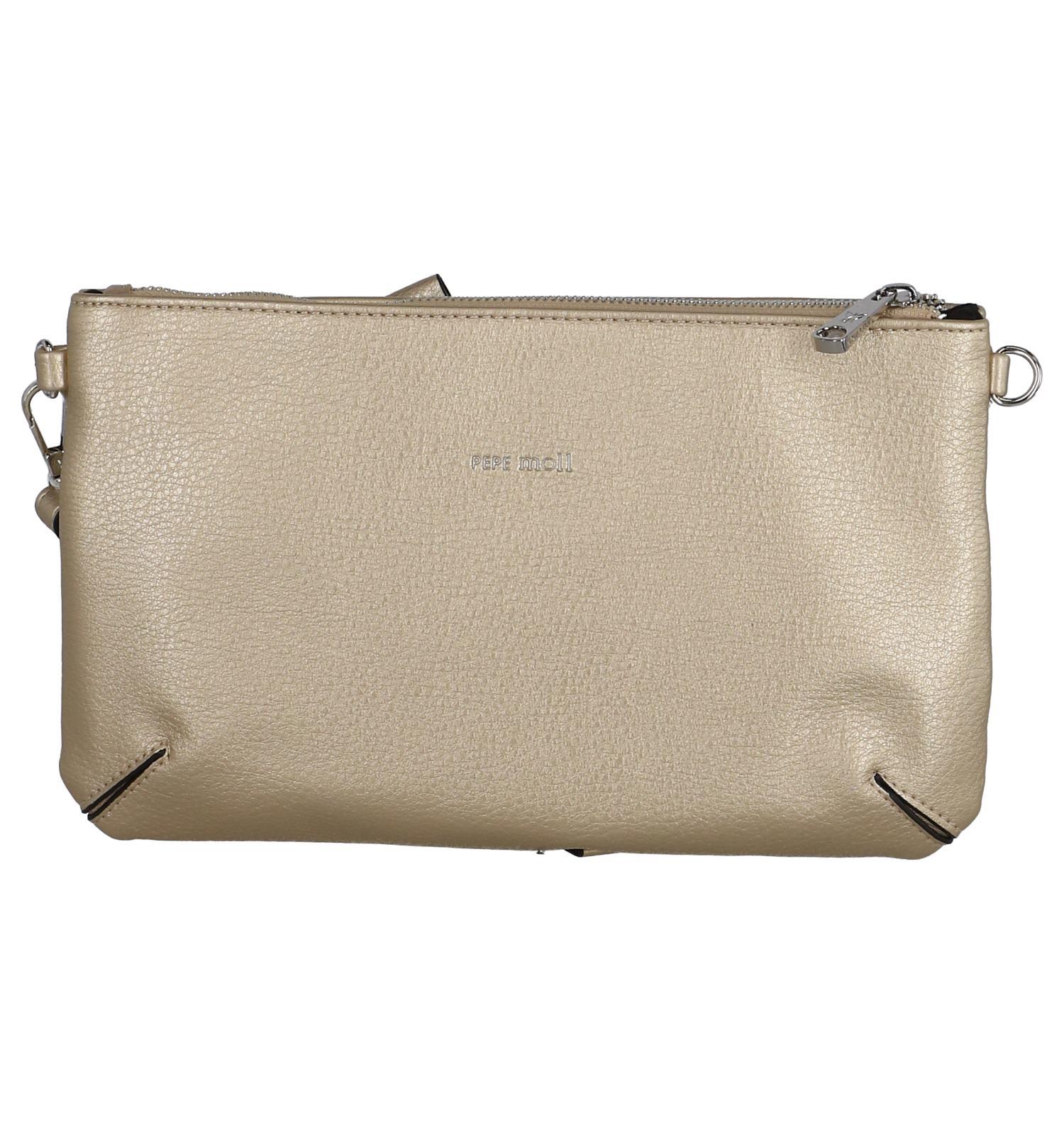 9c16bb1c60d Gouden Crossbody Tas Pepe Moll | TORFS.BE | Gratis verzend en retour