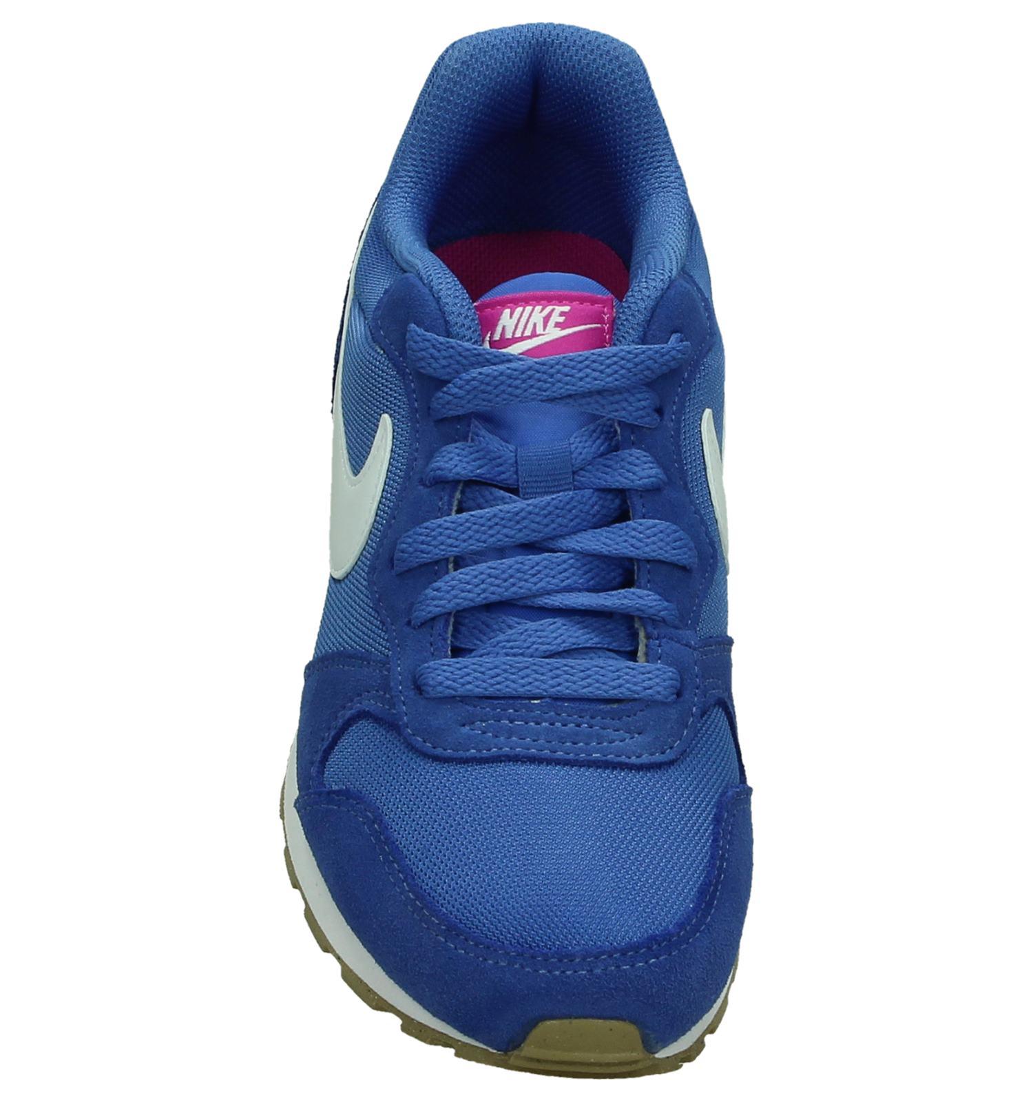 6343caecca8 Nike MD Runner Lage Sportieve Sneaker Blauw   TORFS.BE   Gratis verzend en  retour