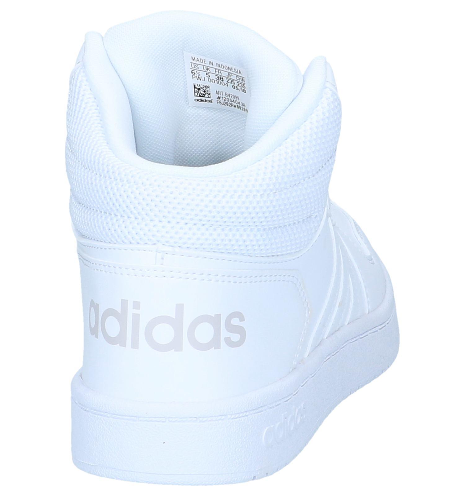 adidas Hoops 2.0 Witte Sneakers | TORFS.BE | Gratis verzend ...