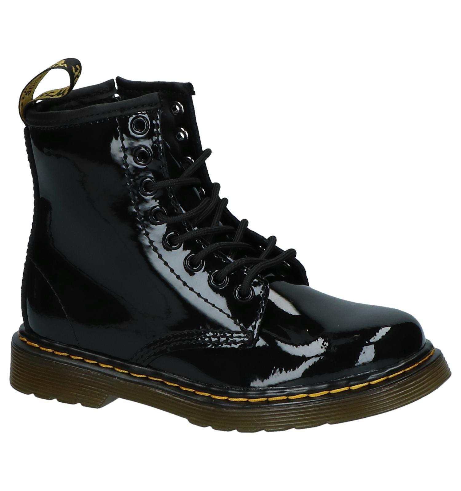 c862a3c3df2 Zwarte Stoere Boots Dr. Martens Delaney Rits/Veter | TORFS.BE | Gratis  verzend en retour