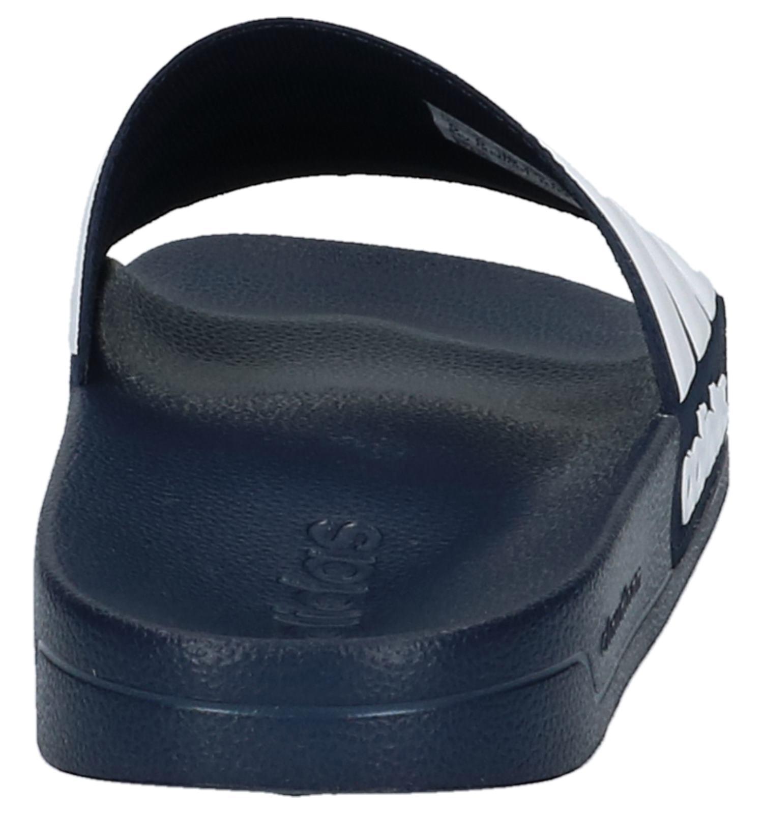 e7789e09441 Donkerblauwe Badslippers adidas Cloudfoam Adilette | TORFS.BE | Gratis  verzend en retour