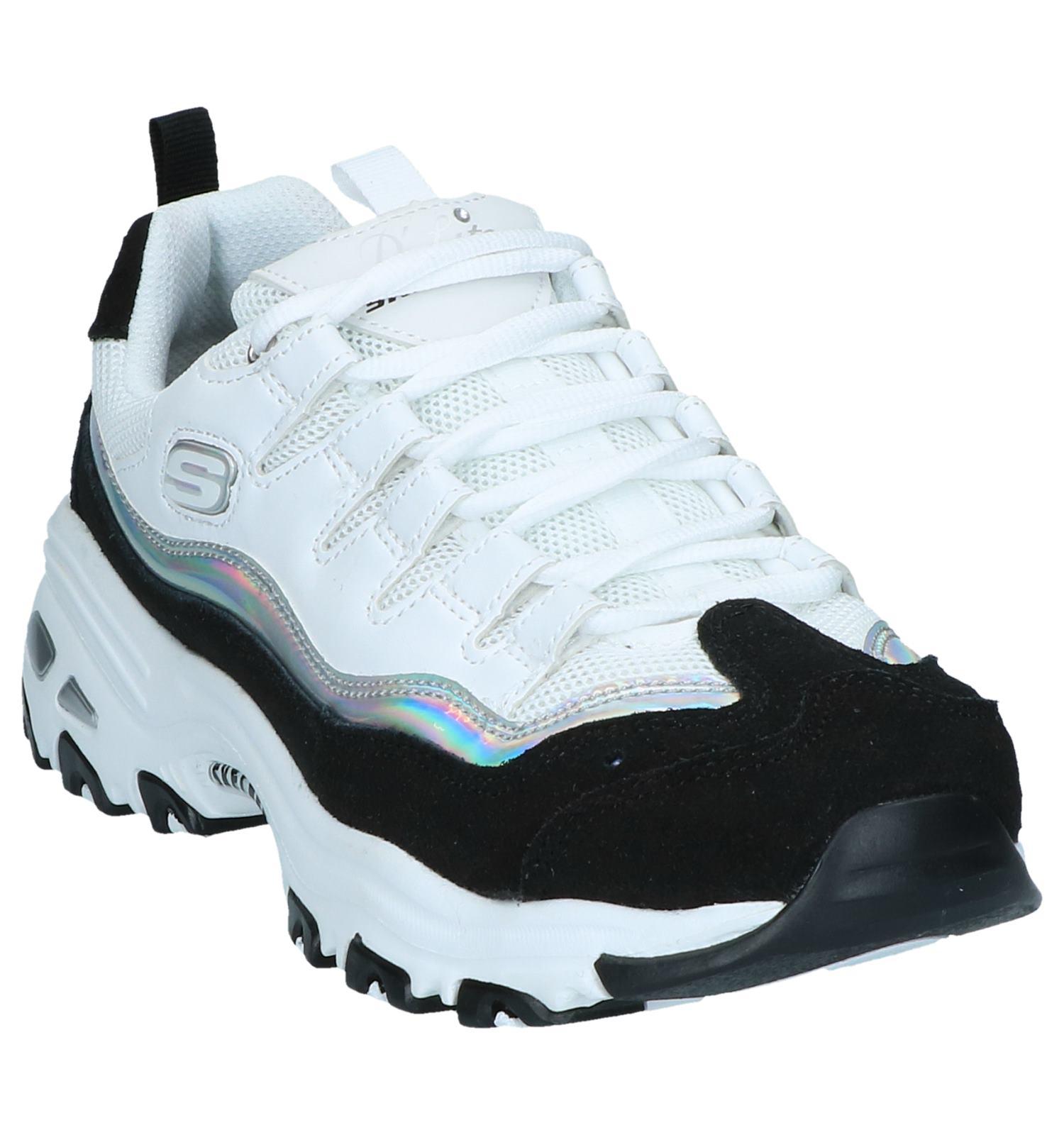 Witte Sneakers Skechers D'Lites Grand View | TORFS.BE