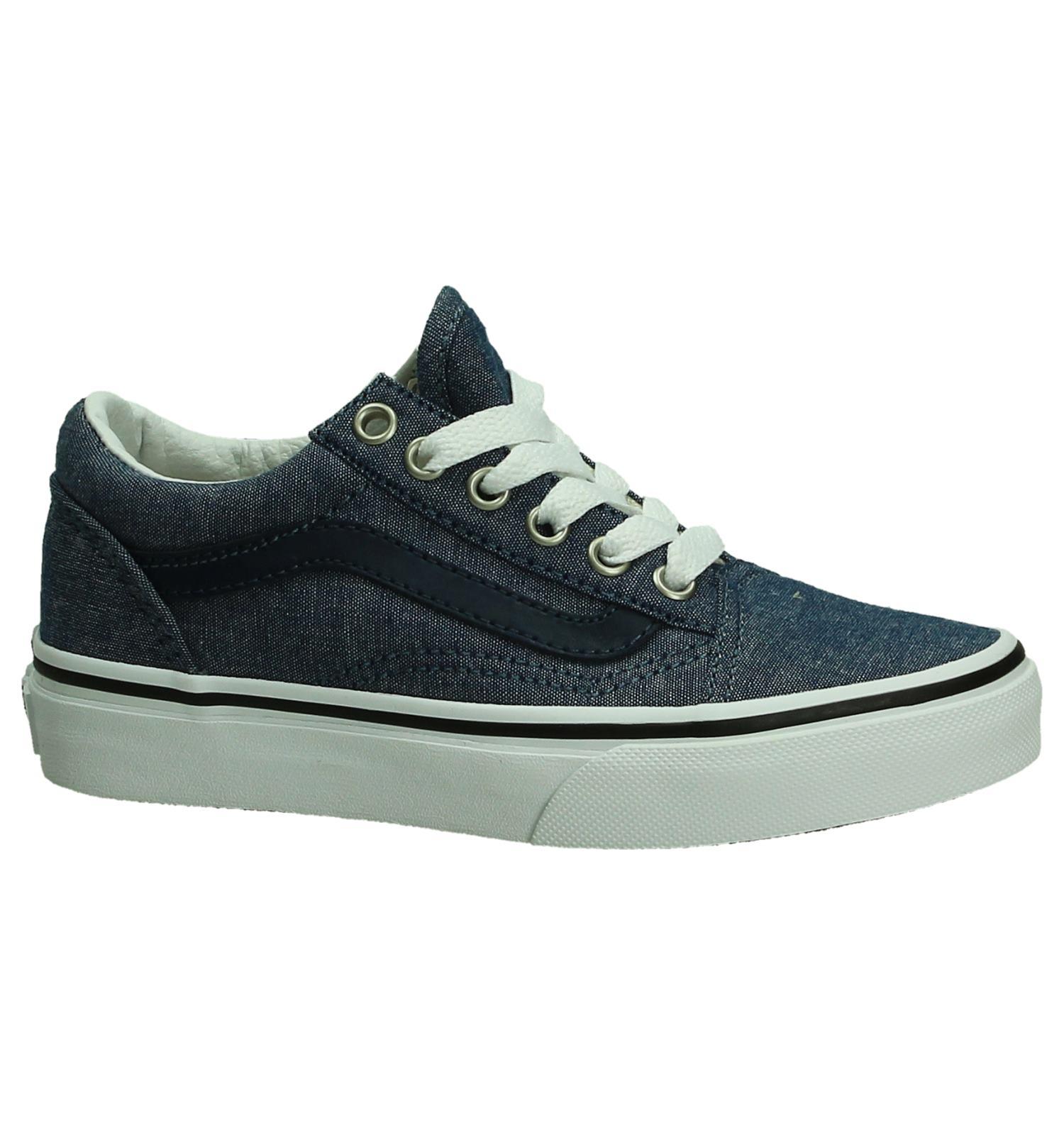 vans schoenen donker blauw