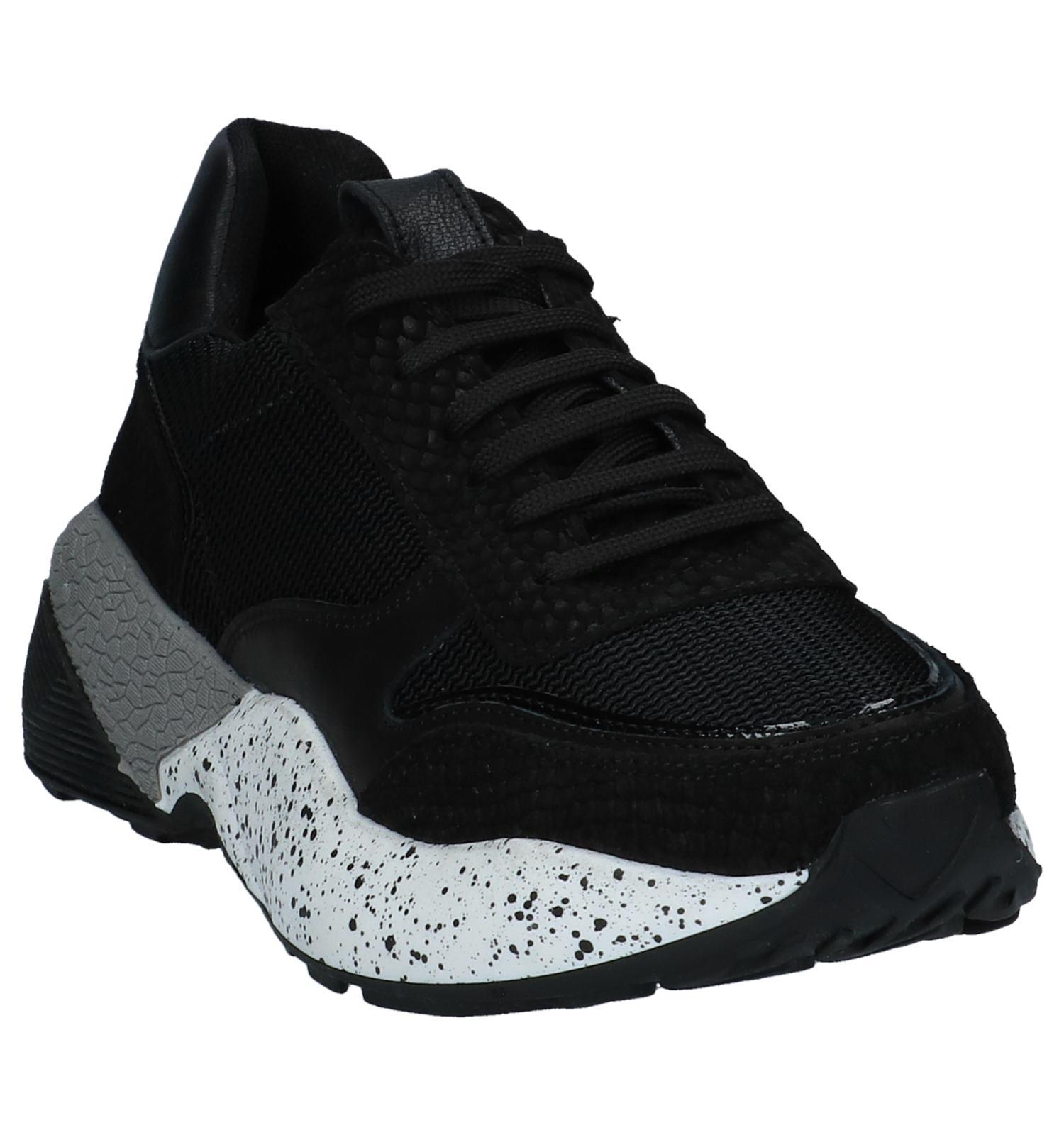 0d260aa8124 Zwarte Geklede Sneakers Poelman | TORFS.BE | Gratis verzend en retour