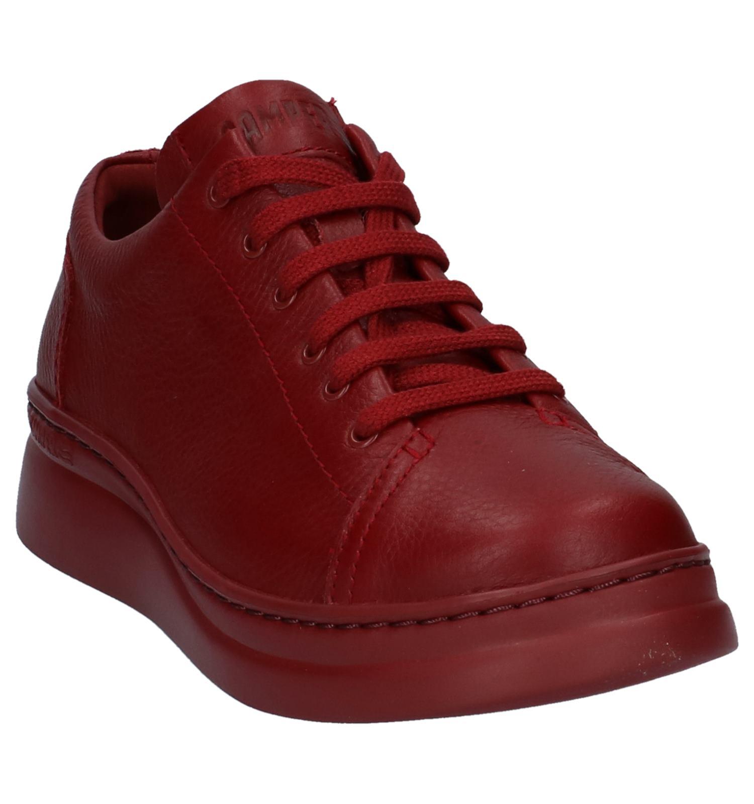 4ef1e52f251 Camper Chaussures à lacets (Rouge foncé)