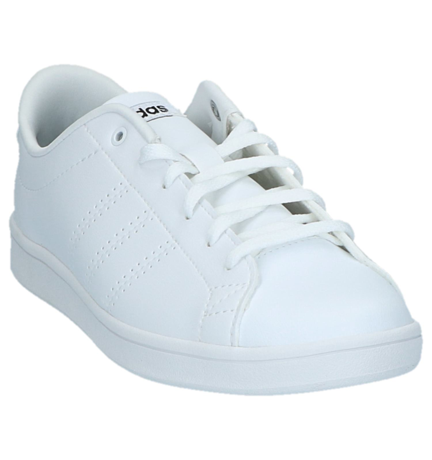 pretty nice 3af2e 525b2 Lage Sportieve Sneakers Wit adidas Advantage Clean  TORFS.BE  Gratis  verzend en retour