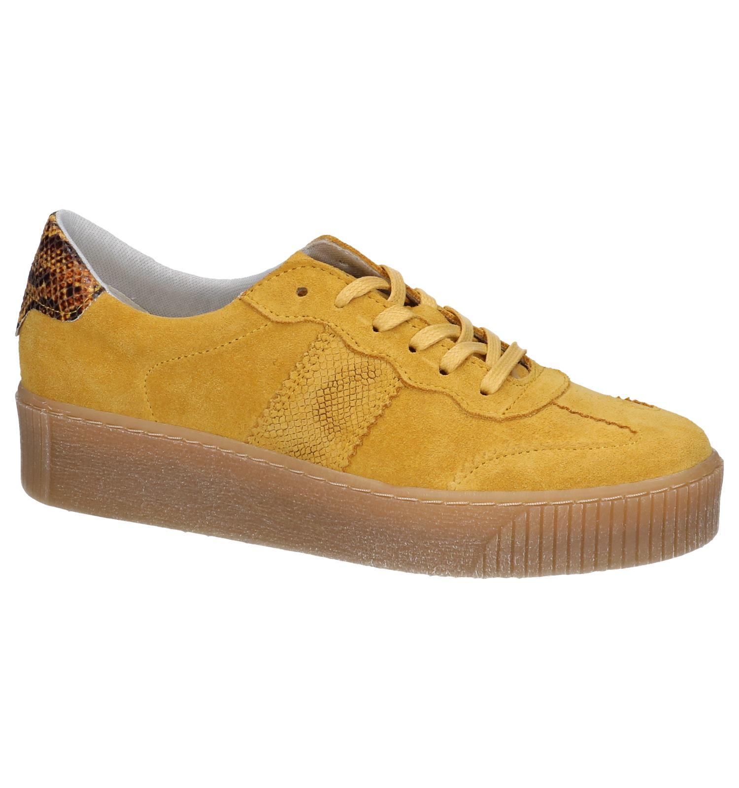 Tamaris Chaussures à lacets en Jaune foncé | TORFS.BE | Livraison et retour gratuits