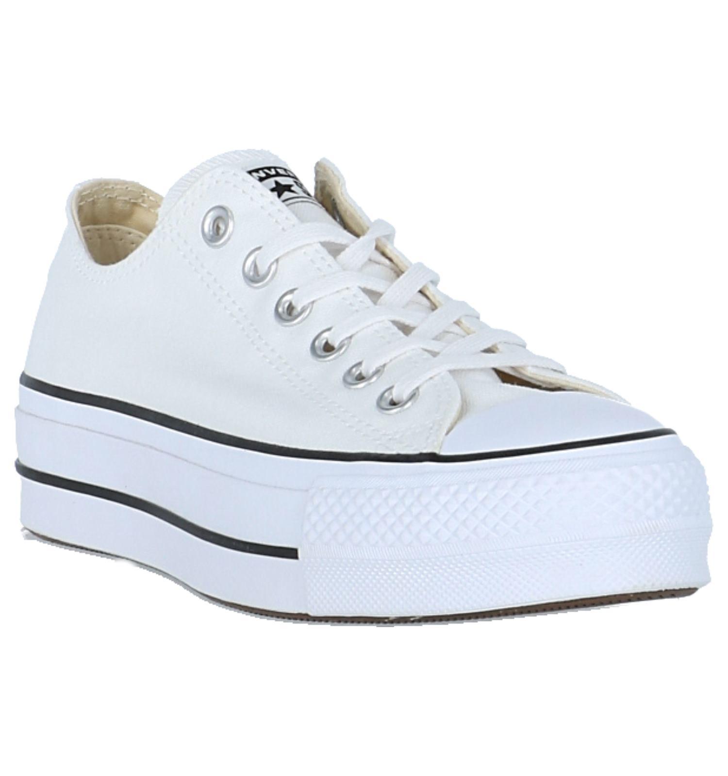 a620d9b2dd0 Witte Lage Sportieve Sneakers Converse Chuck Taylor All Star   TORFS.BE    Gratis verzend en retour