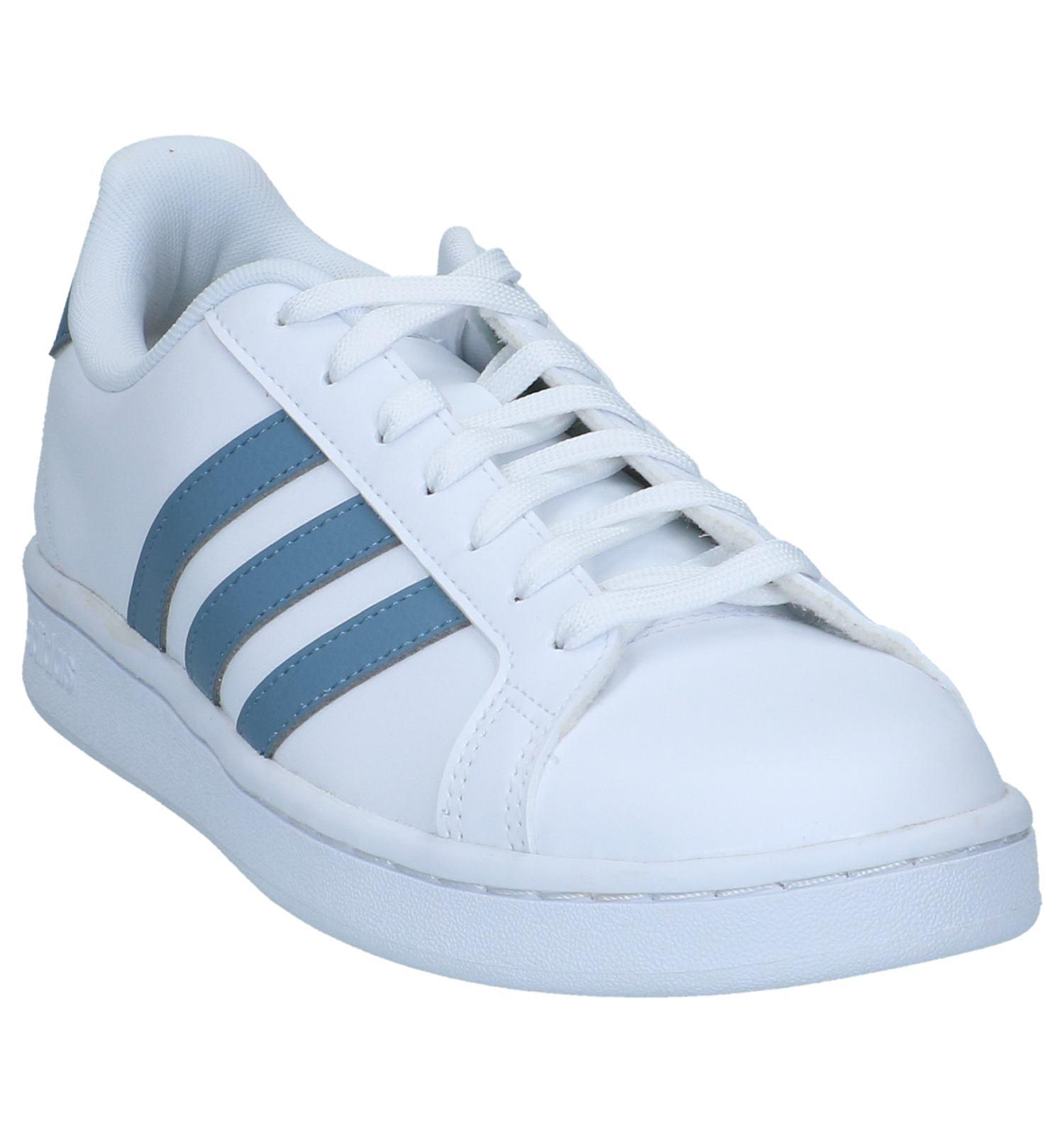 Adidas Court Gratis En Verzend Retour Witte Sneakers Grand Torfs be 7wpHxPq