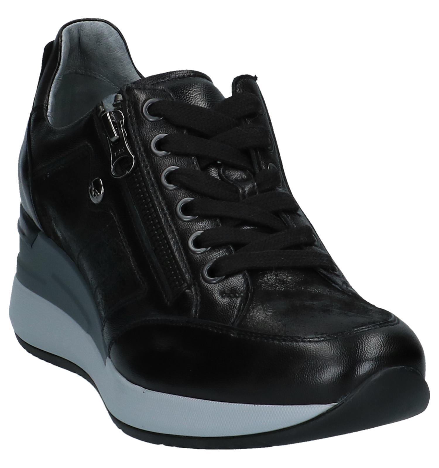 2468aa920af Zwarte Sneakers met Sleehak NeroGiardini | TORFS.BE | Gratis verzend en  retour