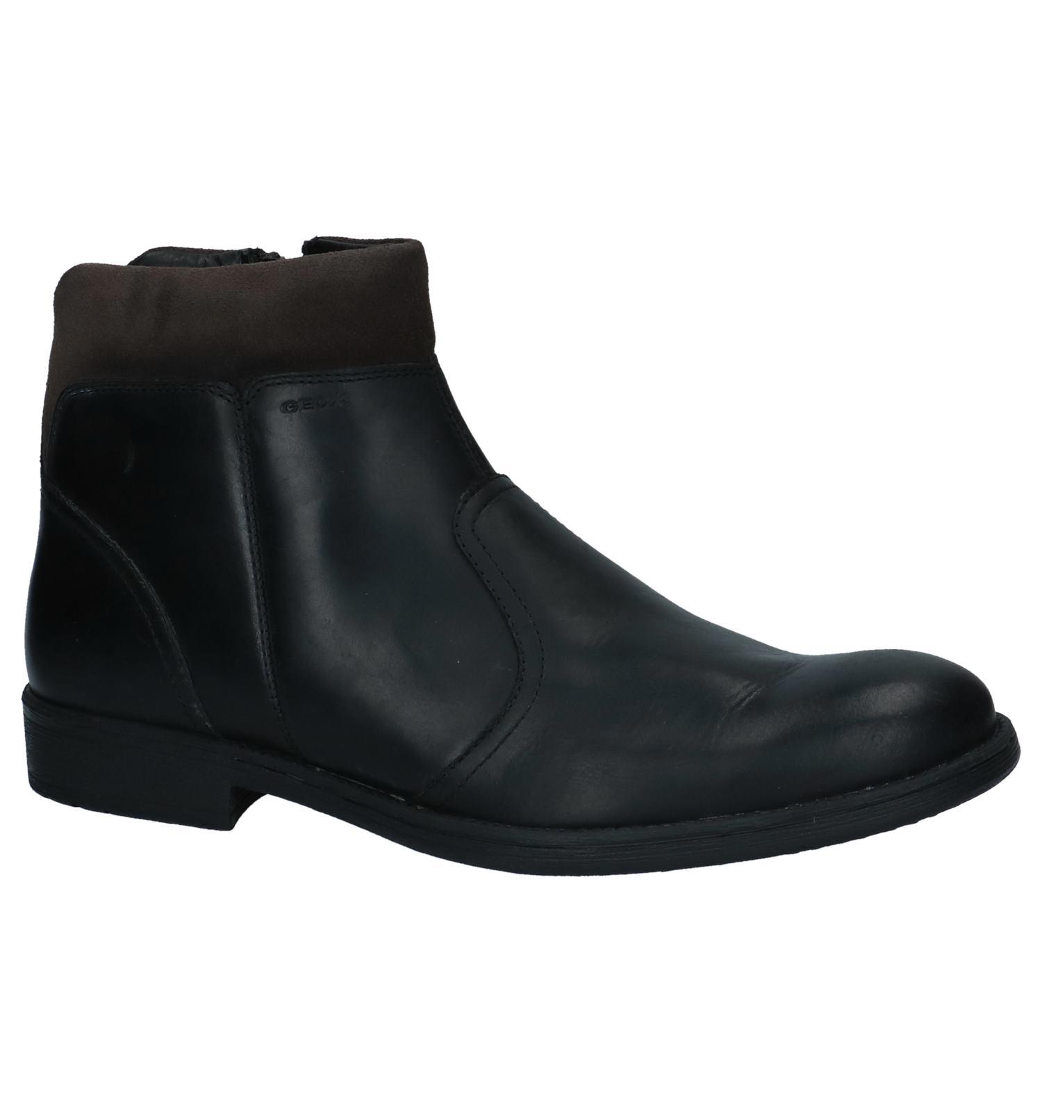 9b9cba1c571 Zwarte Geklede Boots Geox   TORFS.BE   Gratis verzend en retour