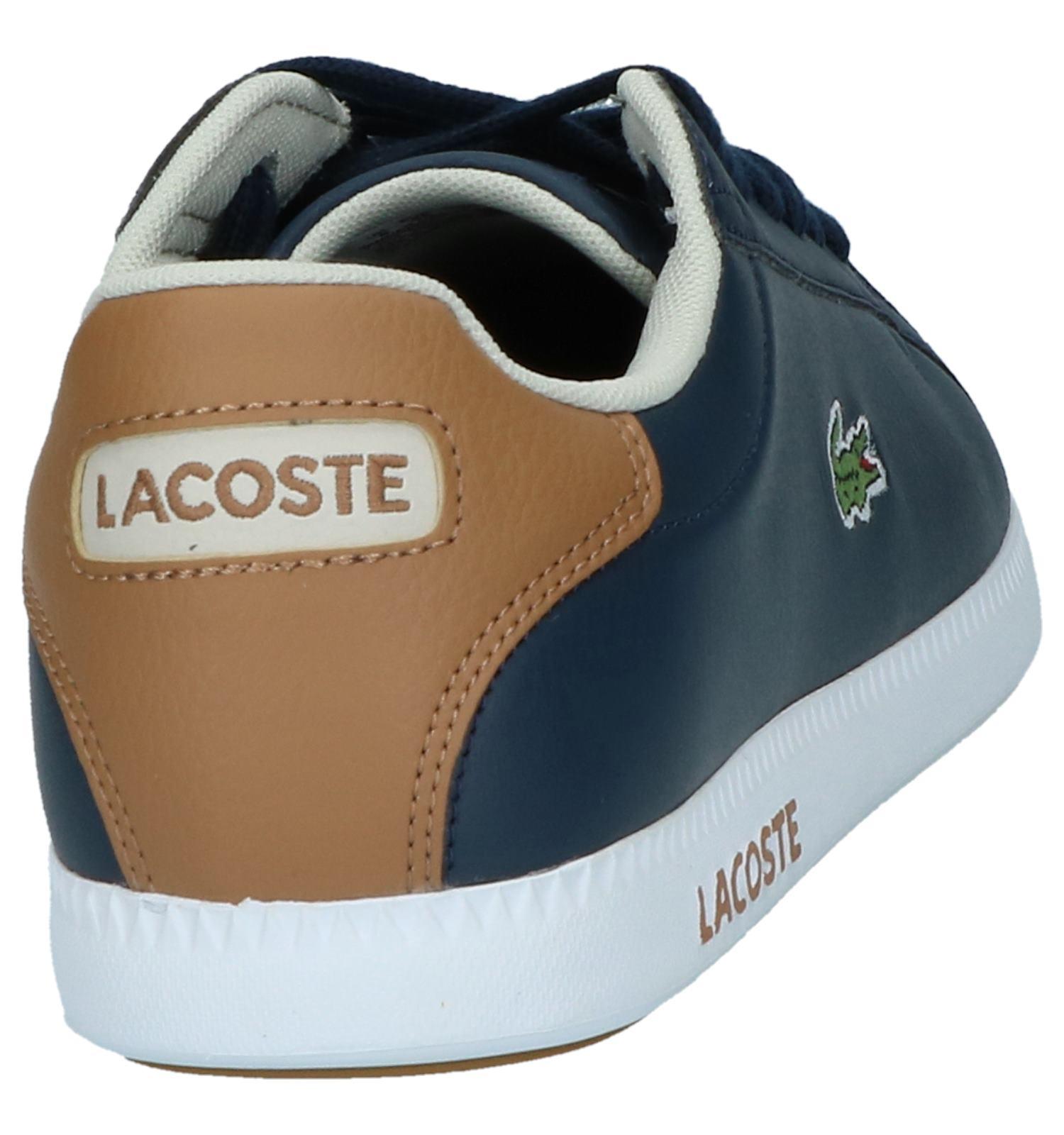 bleu Foncé Et Sneakers Torfs Lacoste Livraison be Basses qtHBnE