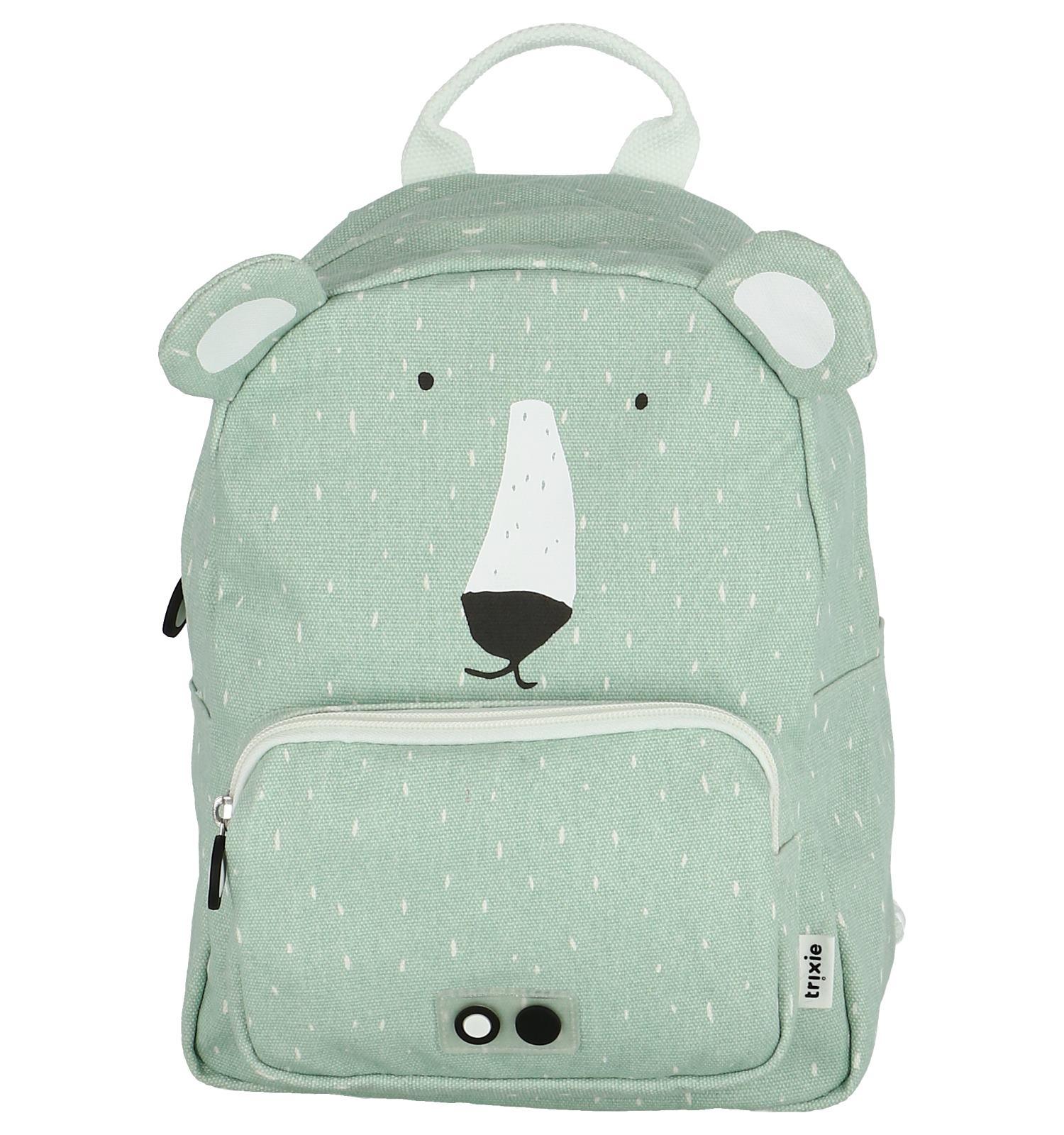 3b48435ad80 Muntgroene Rugzak Trixie Mr. Polar Bear | TORFS.BE | Gratis verzend en  retour