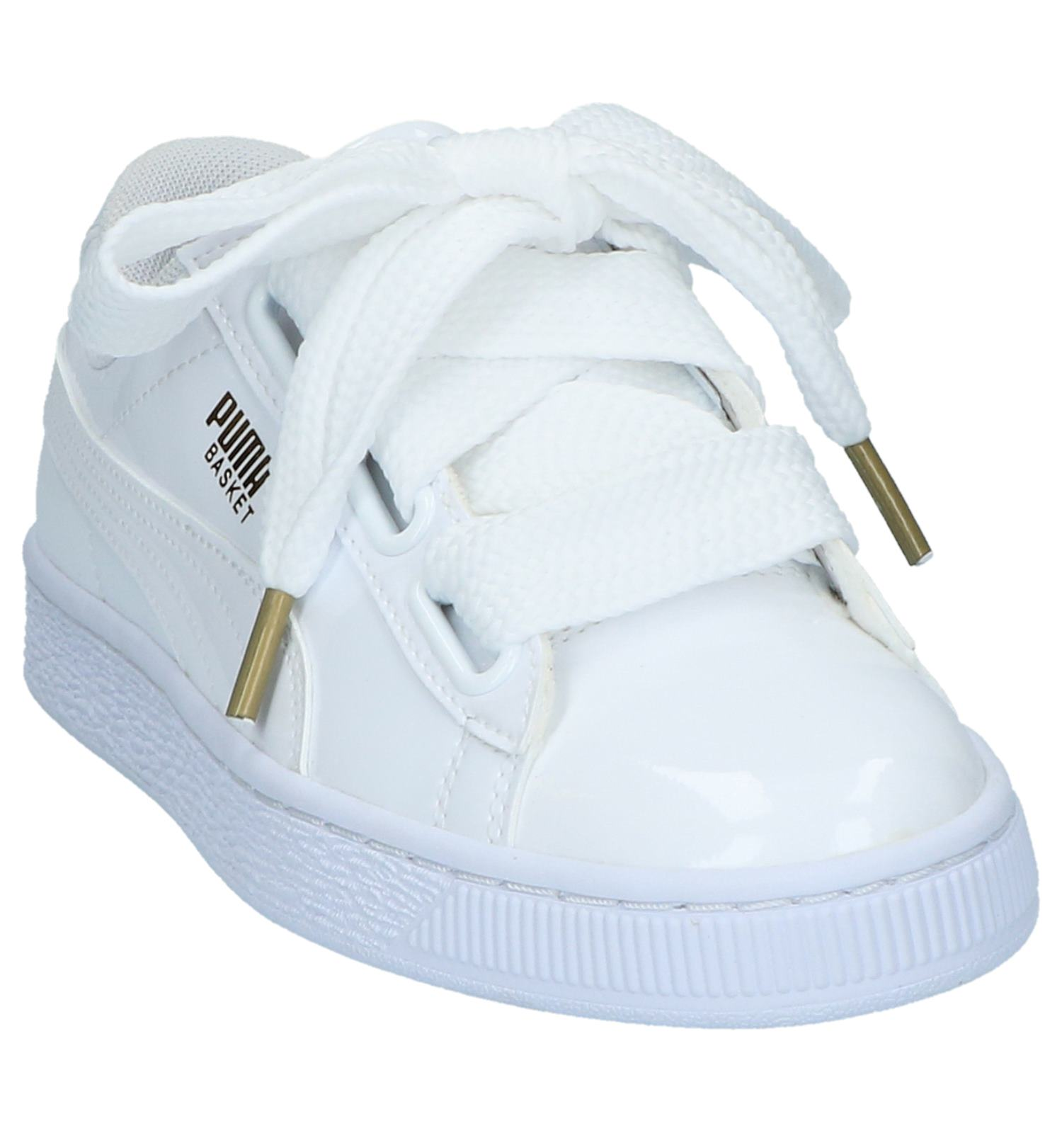 f4bad9fbd80 Gratis retour Basket TORFS Patent Sneakers Puma en Sportieve Lage BE  verzend Heart Witte z7SqwTx